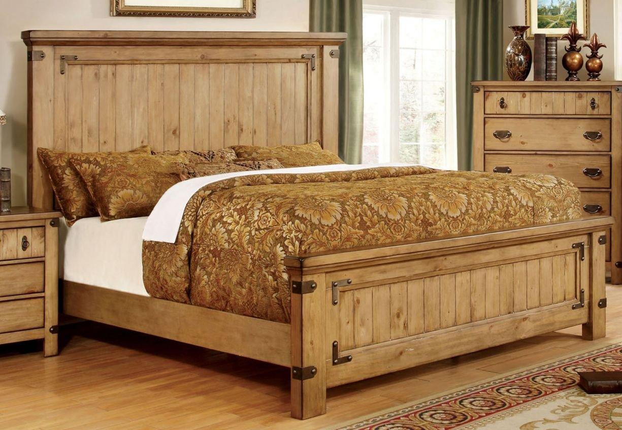 Paula Deen Steel Magnolia Bedroom Set Best Of Furniture Of America Avantgarde 4pc Bedroom Set In Weathered Elm