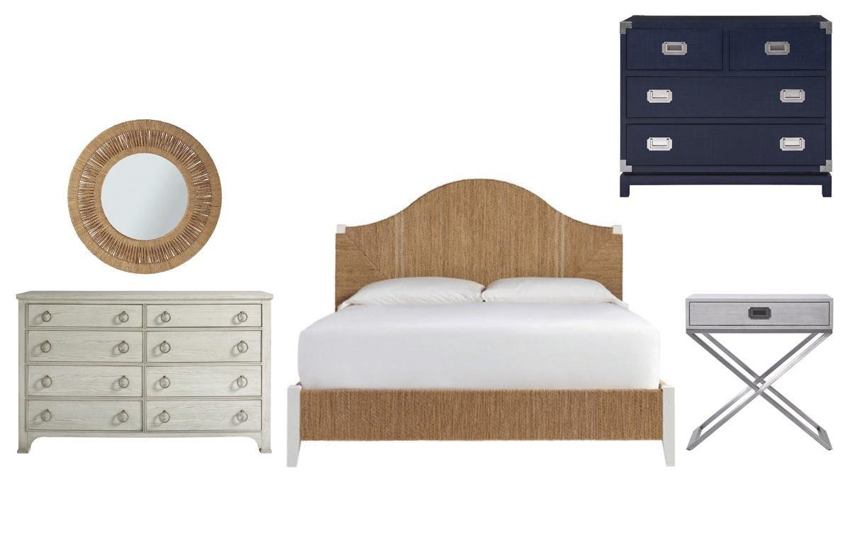 Paula Deen Steel Magnolia Bedroom Set Inspirational Universal Coastal Living Escape 4pc Seabrook Bedroom Set In Woven Abaca