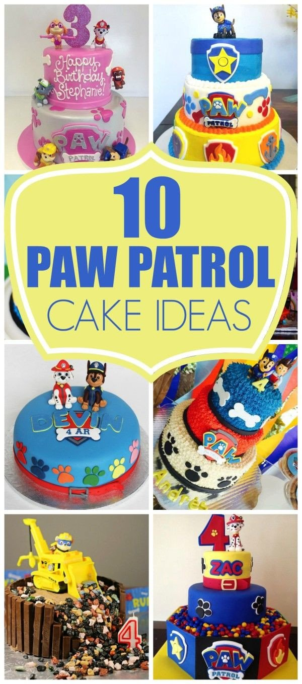 Paw Patrol Bedroom Decor Awesome 10 Perfect Paw Patrol Birthday Cakes