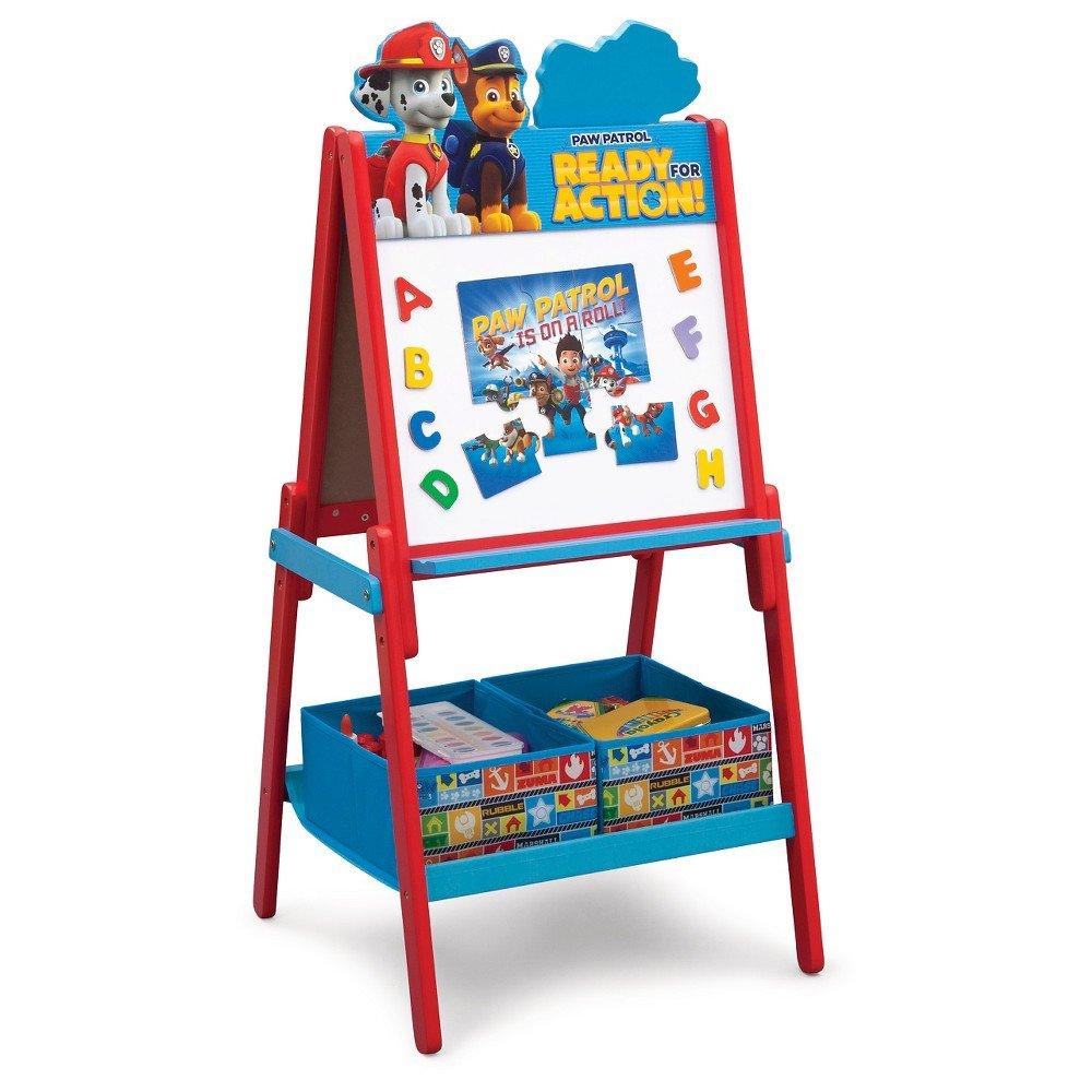 Paw Patrol Bedroom Decor Best Of Delta Children Paw Patrol Wooden Double Side – Red