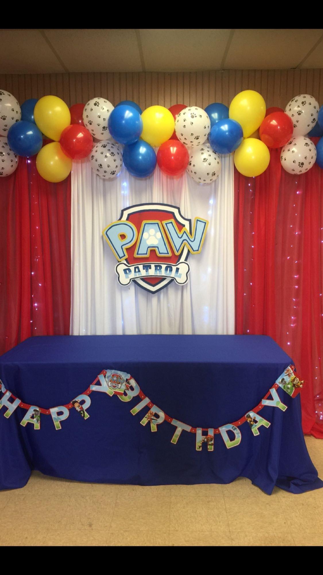 Paw Patrol Bedroom Decor Inspirational Paw Patrol Decorations