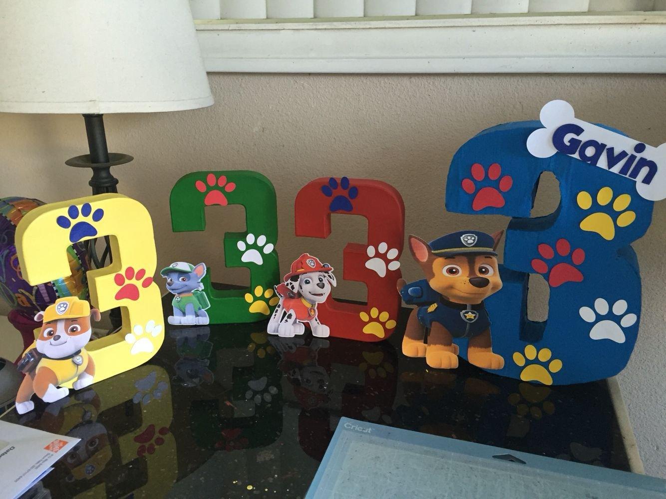 Paw Patrol Bedroom Decor Unique Pawpatrol Table Center Pieces Partydecor Pawpatrol