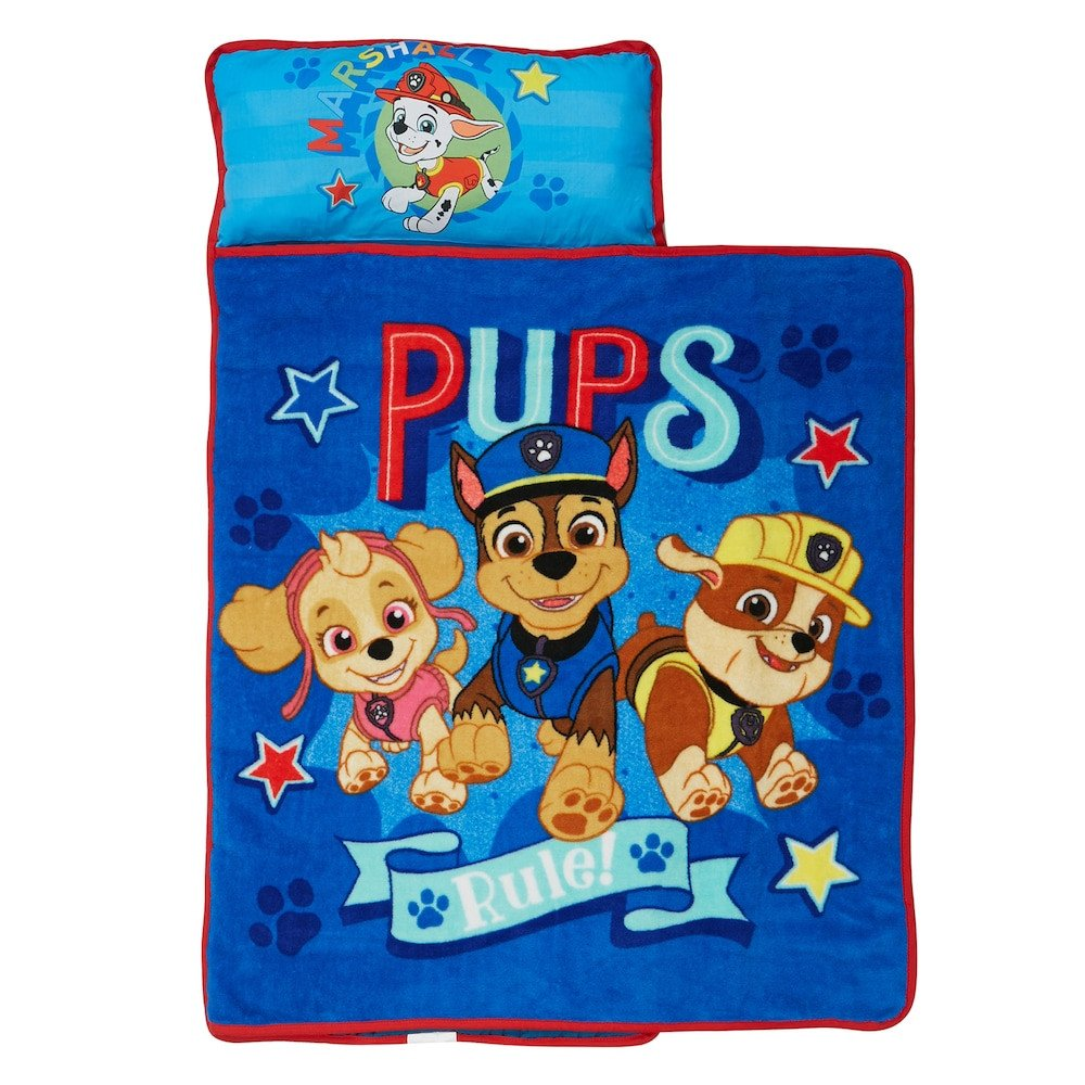 "Paw Patrol Bedroom Furniture Lovely Paw Patrol ""pups Rule"" Skye Chase & Rubble toddler Nap Mat"