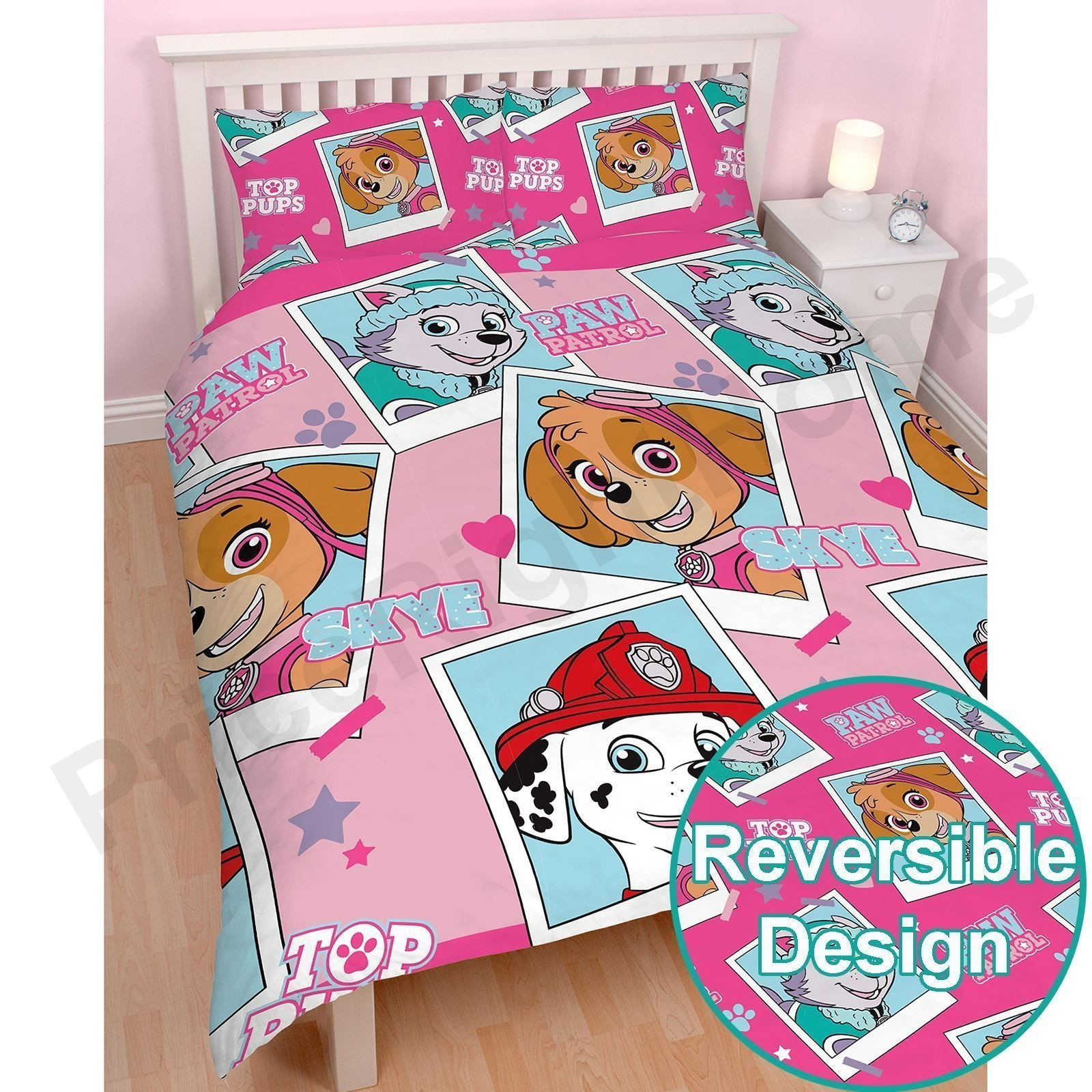 Paw Patrol Bedroom Furniture Lovely Paw Patrol Stars Full Size Duvet Cover Set Childrens