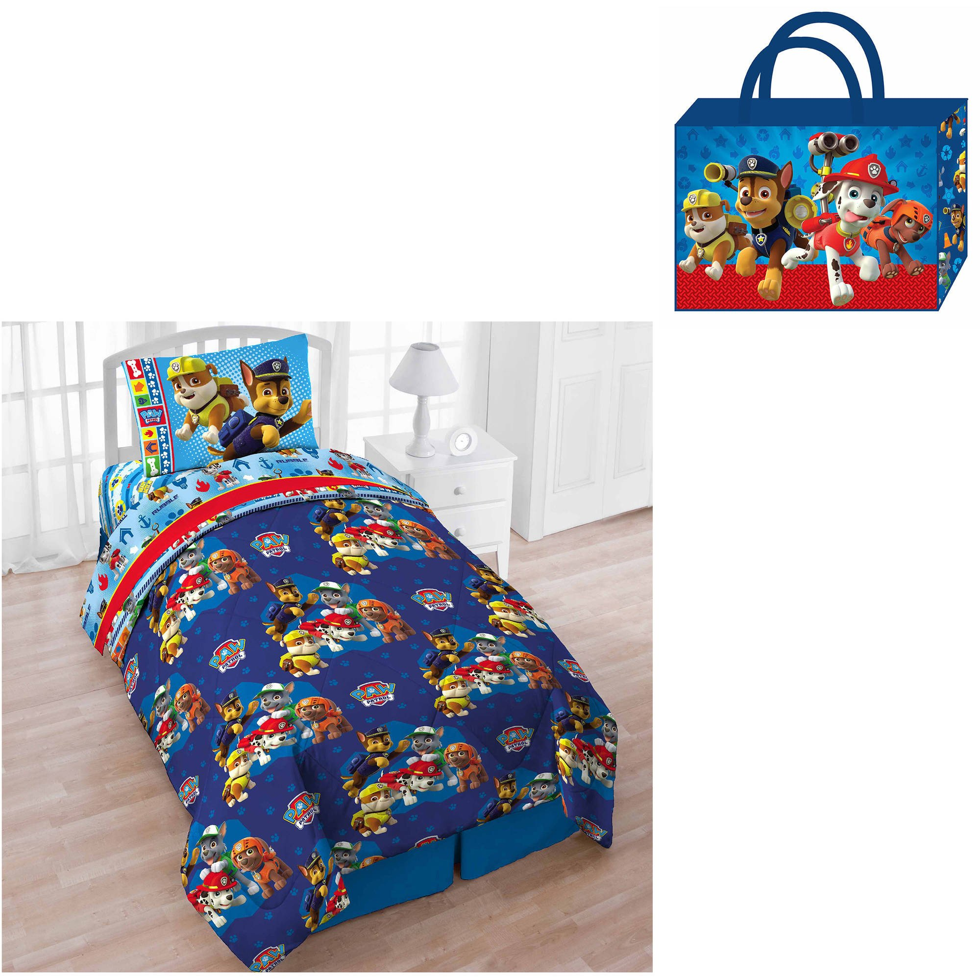 Paw Patrol Bedroom Set New Paw Patrol Double Full 4 Piece Sheet Set Be Your Own Rainbow