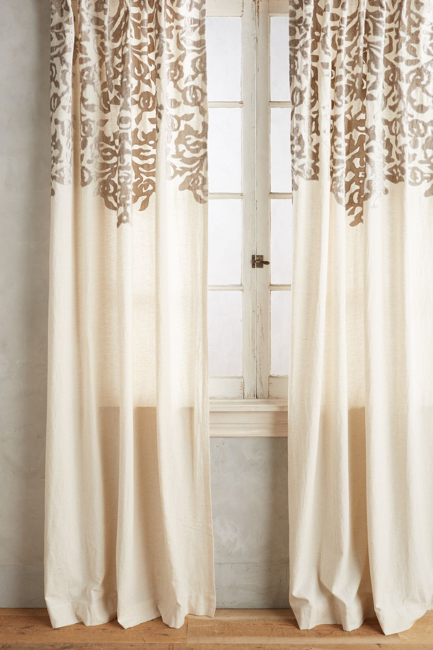 Peach Curtains for Bedroom Beautiful Shop the Vining Velvet Curtain and More Anthropologie at