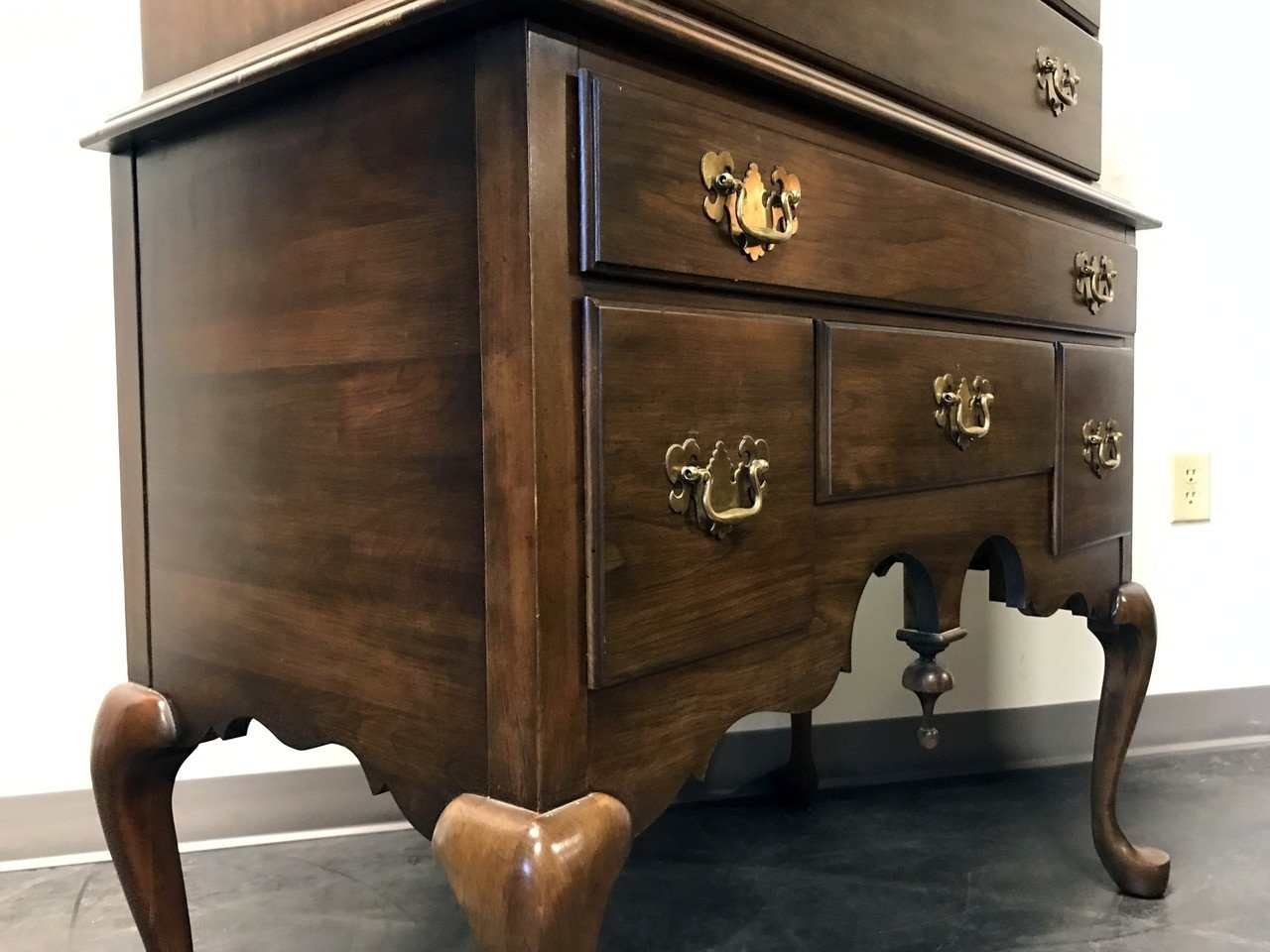 Pennsylvania House Bedroom Furniture Luxury Pennsylvania House solid Cherry Queen Anne Highboy Chest