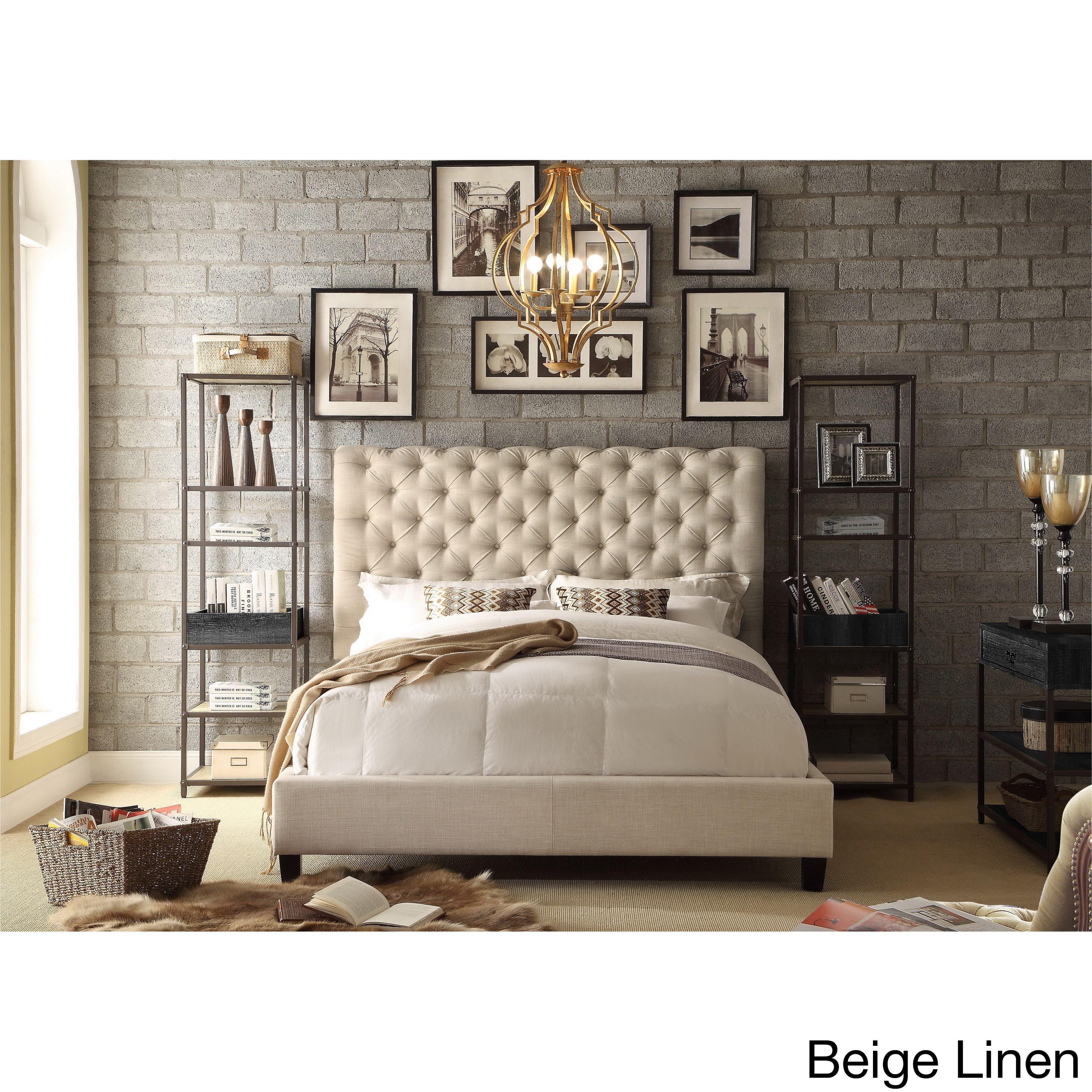 Pier One Bedroom Set Best Of Moser Bay Furniture Calia Tufted Upholstered Platform Bed