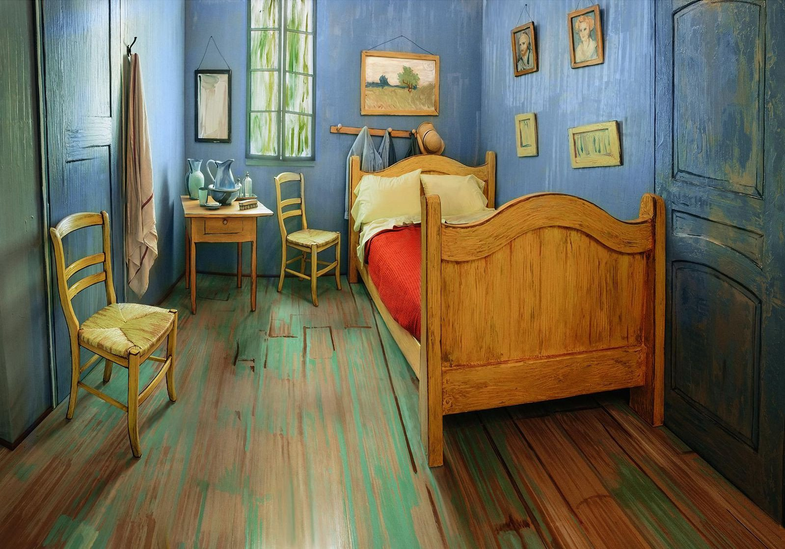 Pier One Bedroom Set Elegant Rent A Recreation Of Van Gogh S Bedroom and Other Artistic