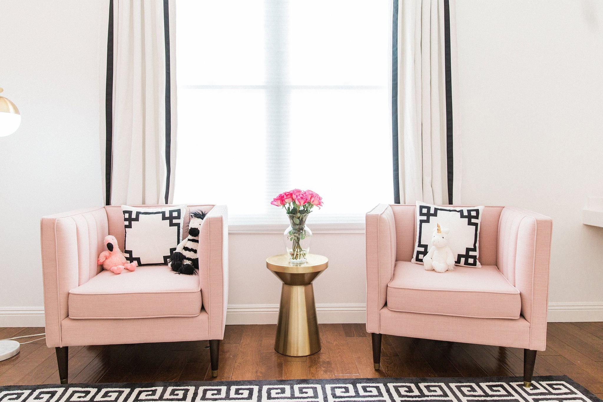 Pink and Black Bedroom Elegant In the Nursery with Casey Winchell Napolitano
