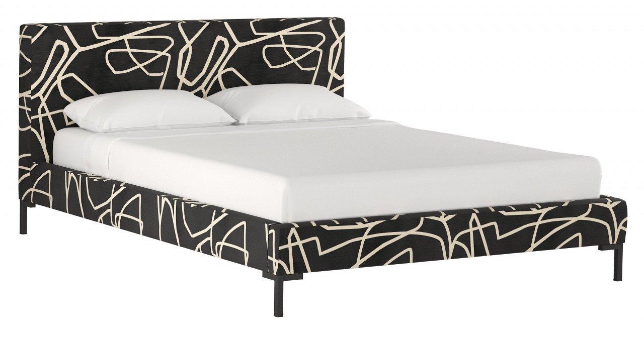 Pink and Black Bedroom Fresh Minimal Platform Bed — Procura Home Blog