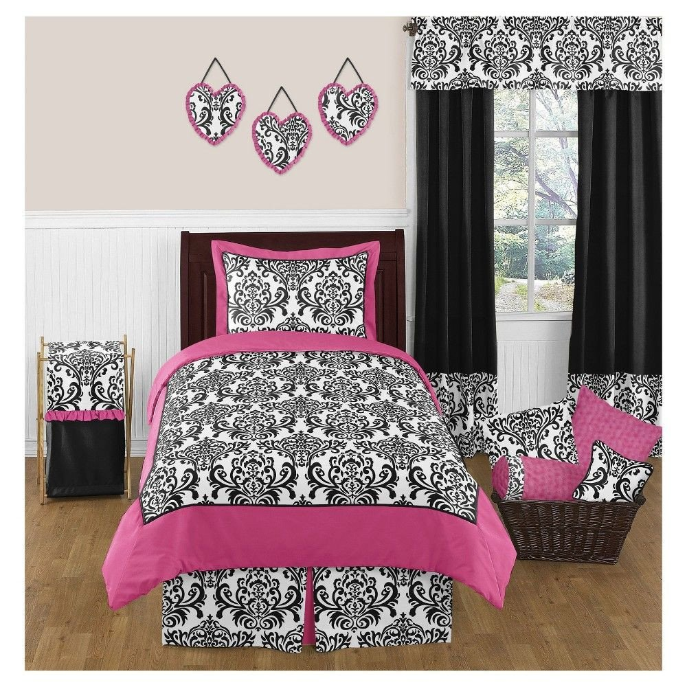 Pink and Black Bedroom New Pin On Products