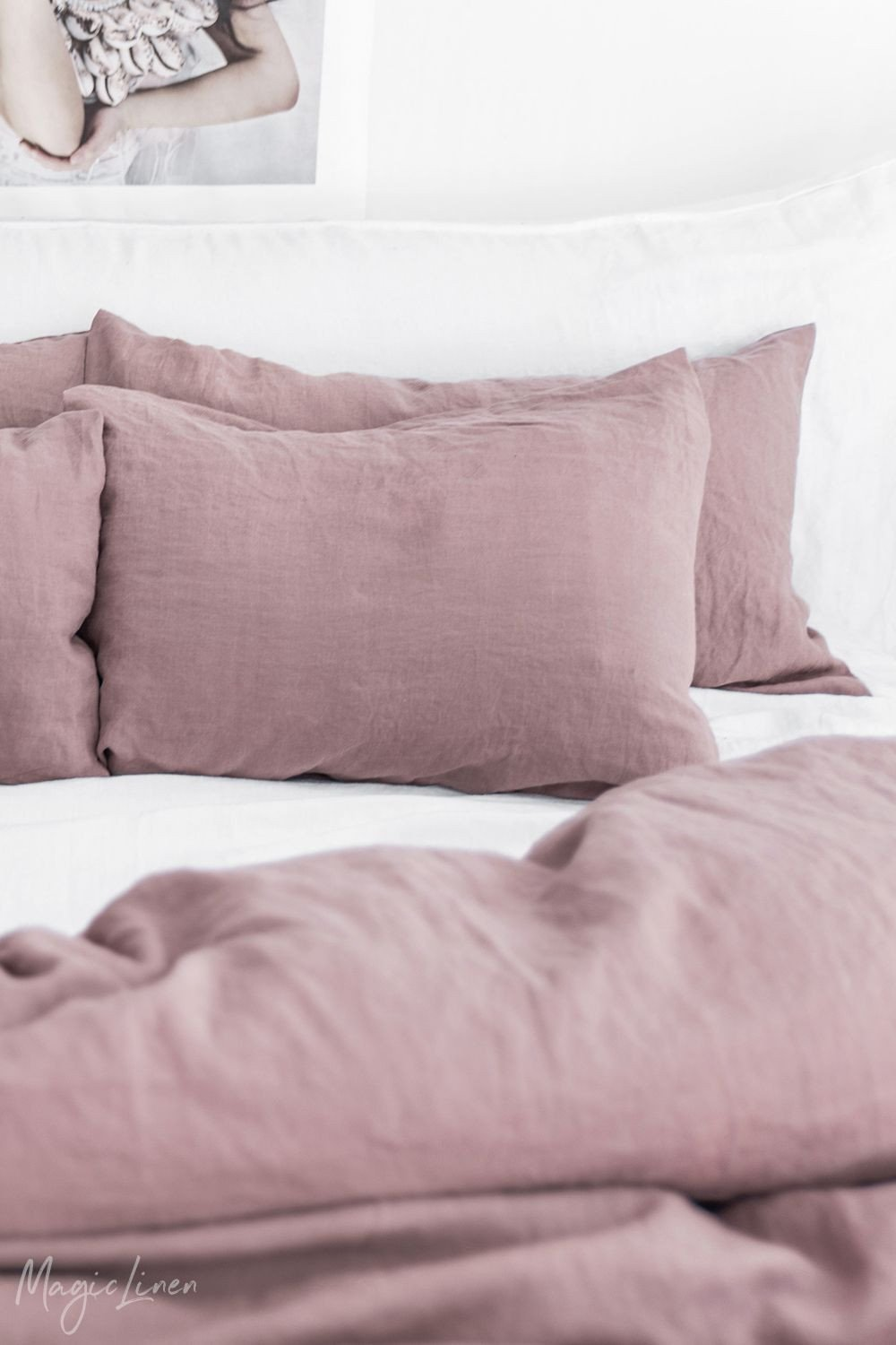 Pink and Brown Bedroom Awesome Bring Life Into Your Bedroom with Fresh Linen Bedding In