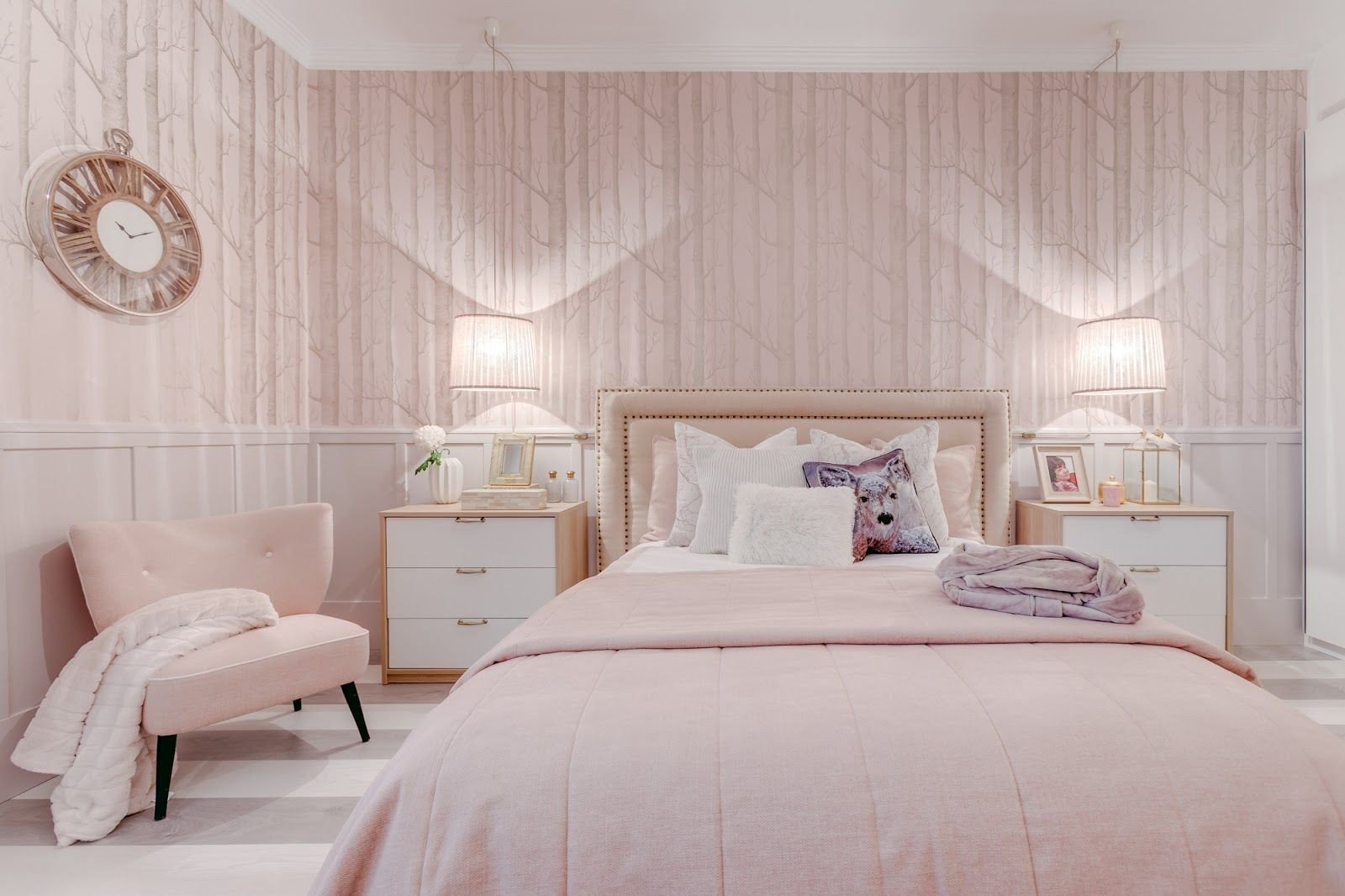 Pink and Brown Bedroom Fresh Pink Bedroom by Portuguese Designer Ana Antunes