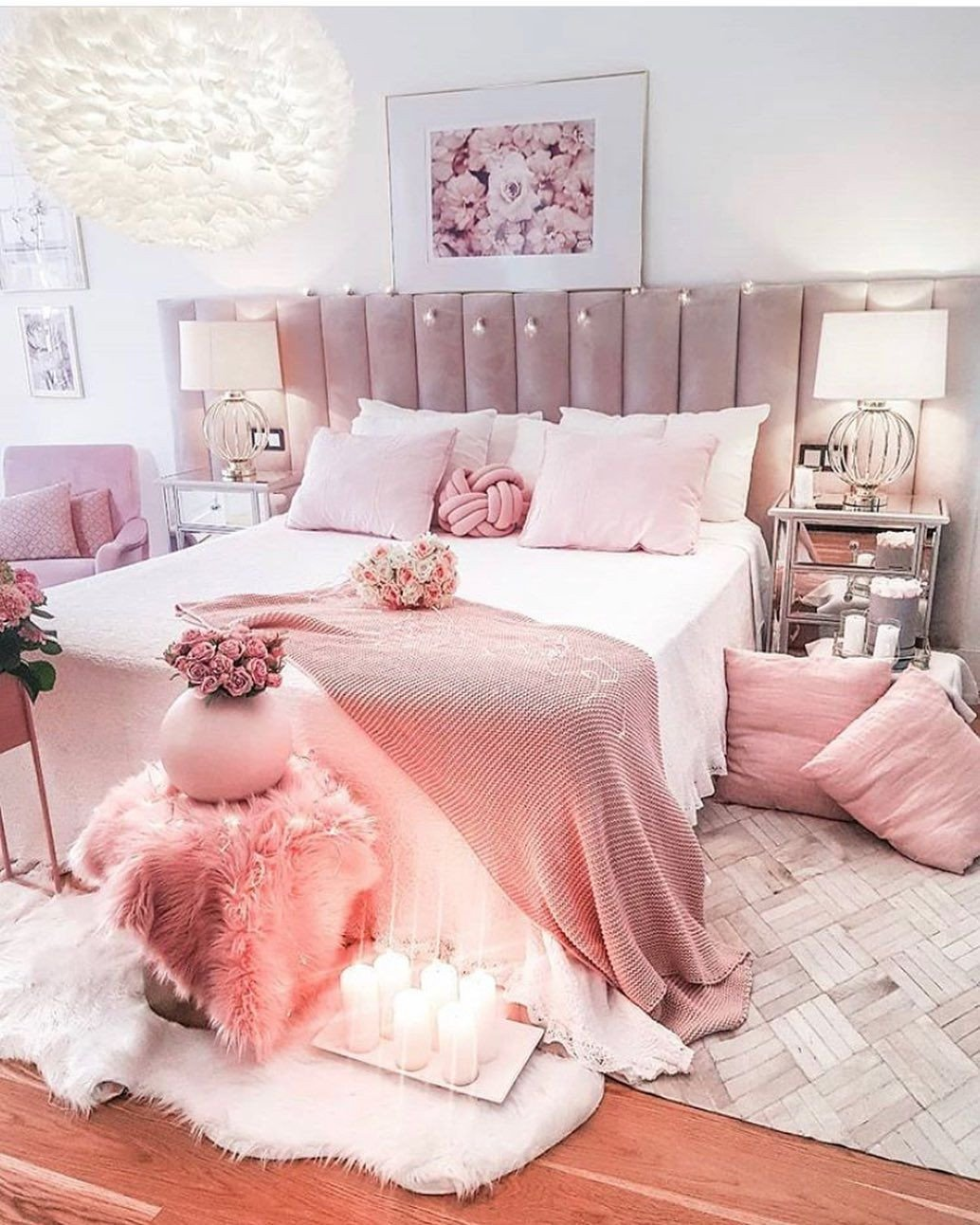 Pink and Gold Bedroom Ideas Beautiful Happy Sunday Hope Everyone Had A Great Day Tamishome