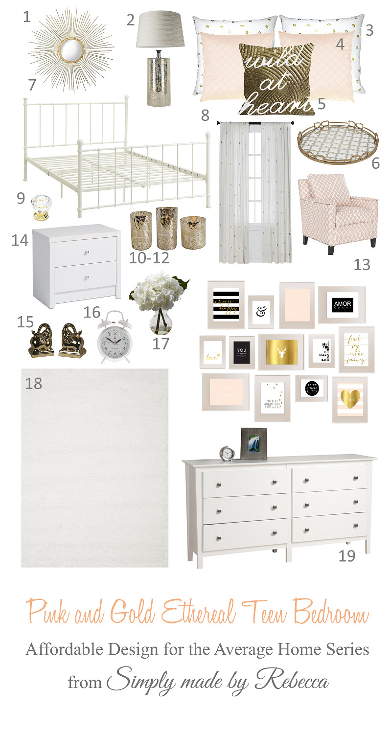 Pink and Gold Bedroom Ideas Inspirational Pin On Livers Room