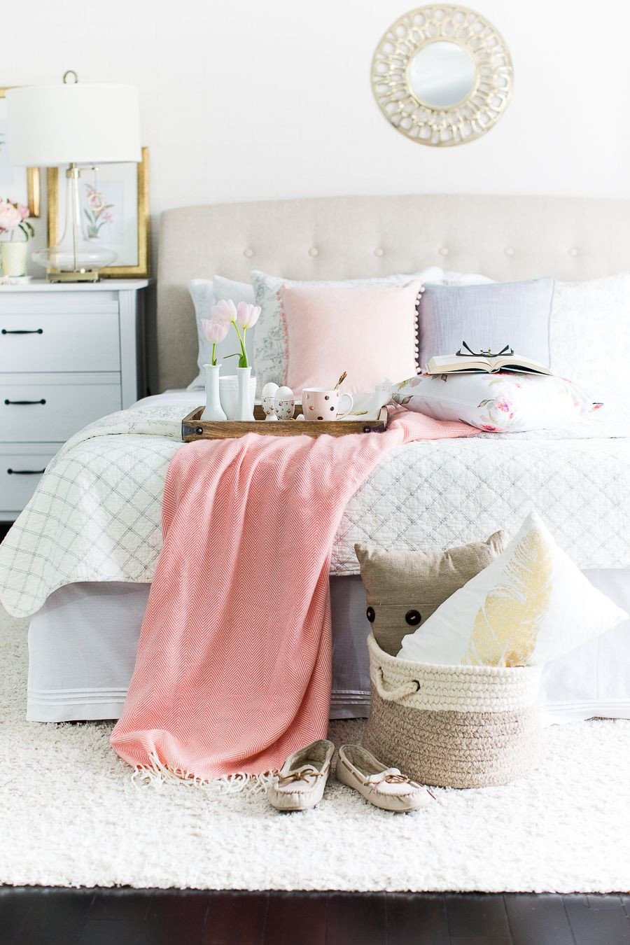 Pink and Gold Bedroom Ideas Luxury 15 Colorful Master Bedrooms