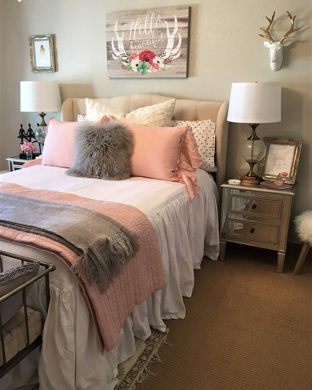 Pink and Gold Bedroom Set Unique Pin On sofia