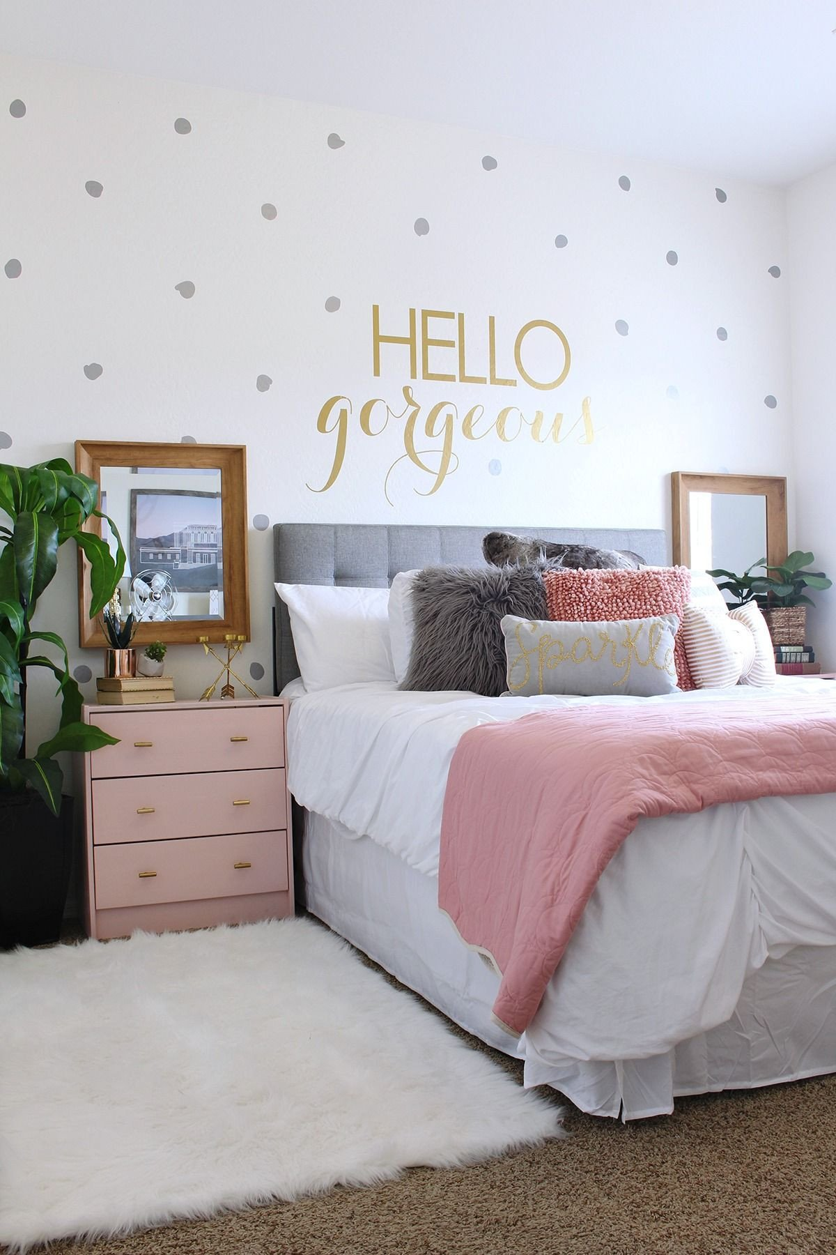 Pink and Grey Bedroom Inspirational Pin On Classy Clutter Blog