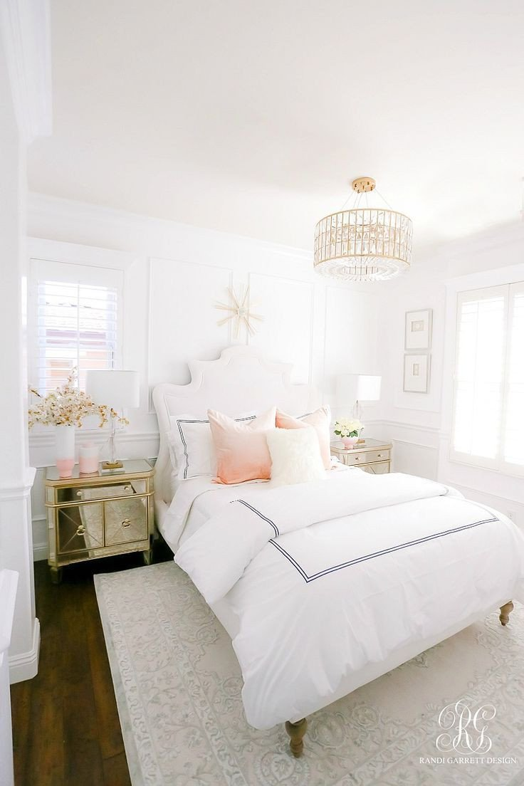 Pink and White Bedroom Fresh How to Add Color to A Neutral Bedroom