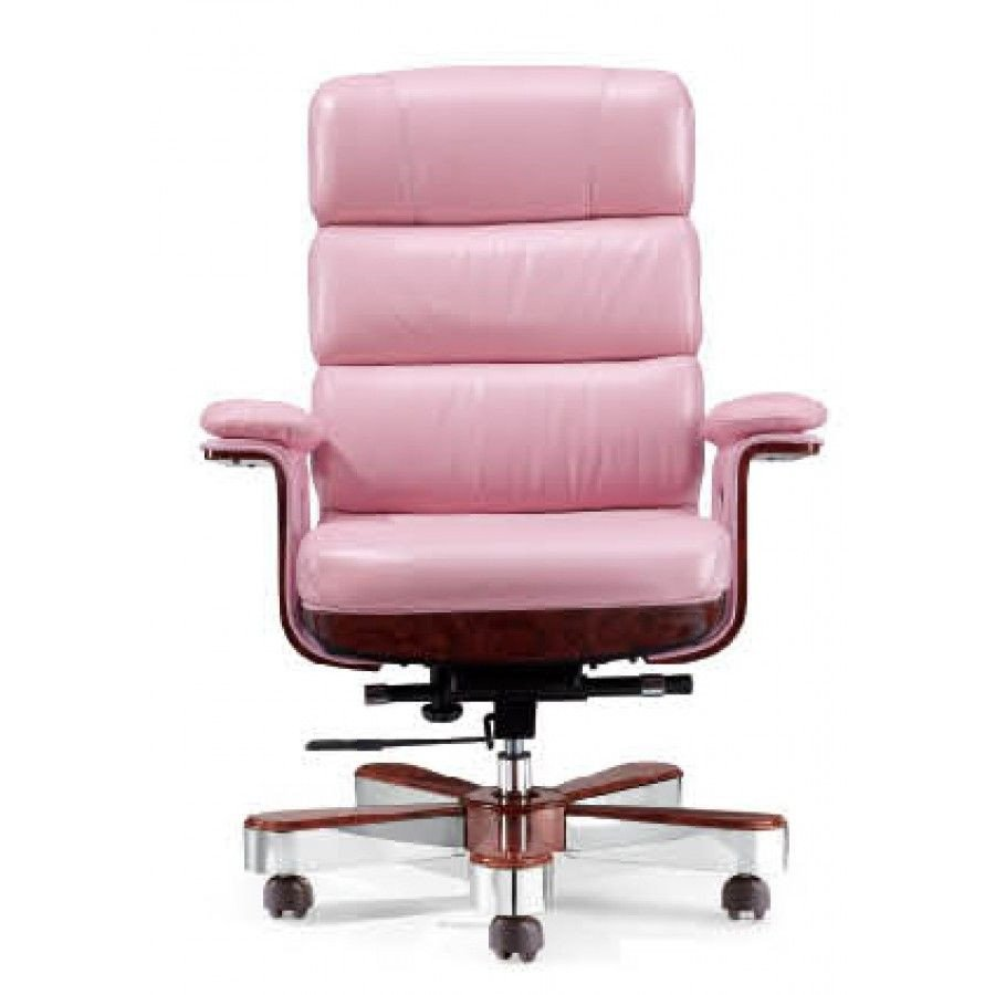 Pink Chair for Bedroom Awesome Luxury Executive Chair Pink Leather Des A020 P order