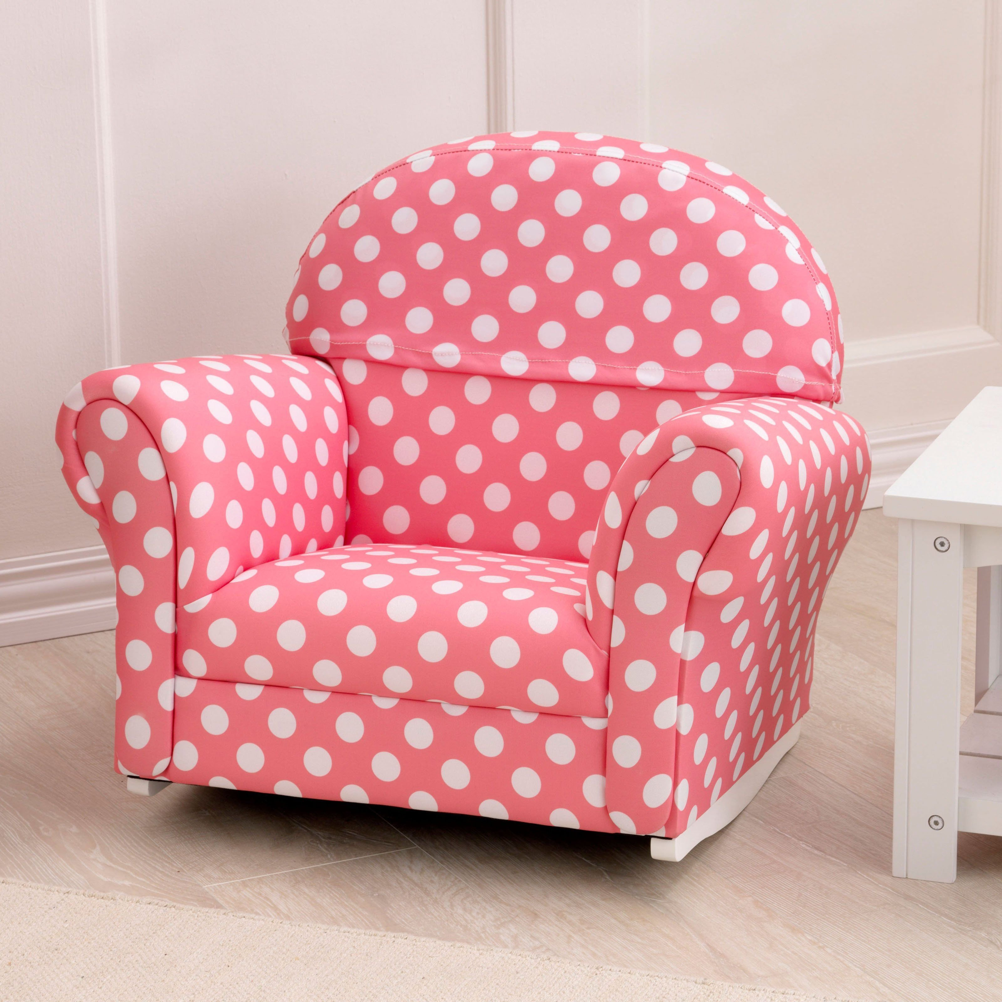 Pink Chair for Bedroom Beautiful Have to Have It Kidkraft Upholstered Pink with Polka Dots