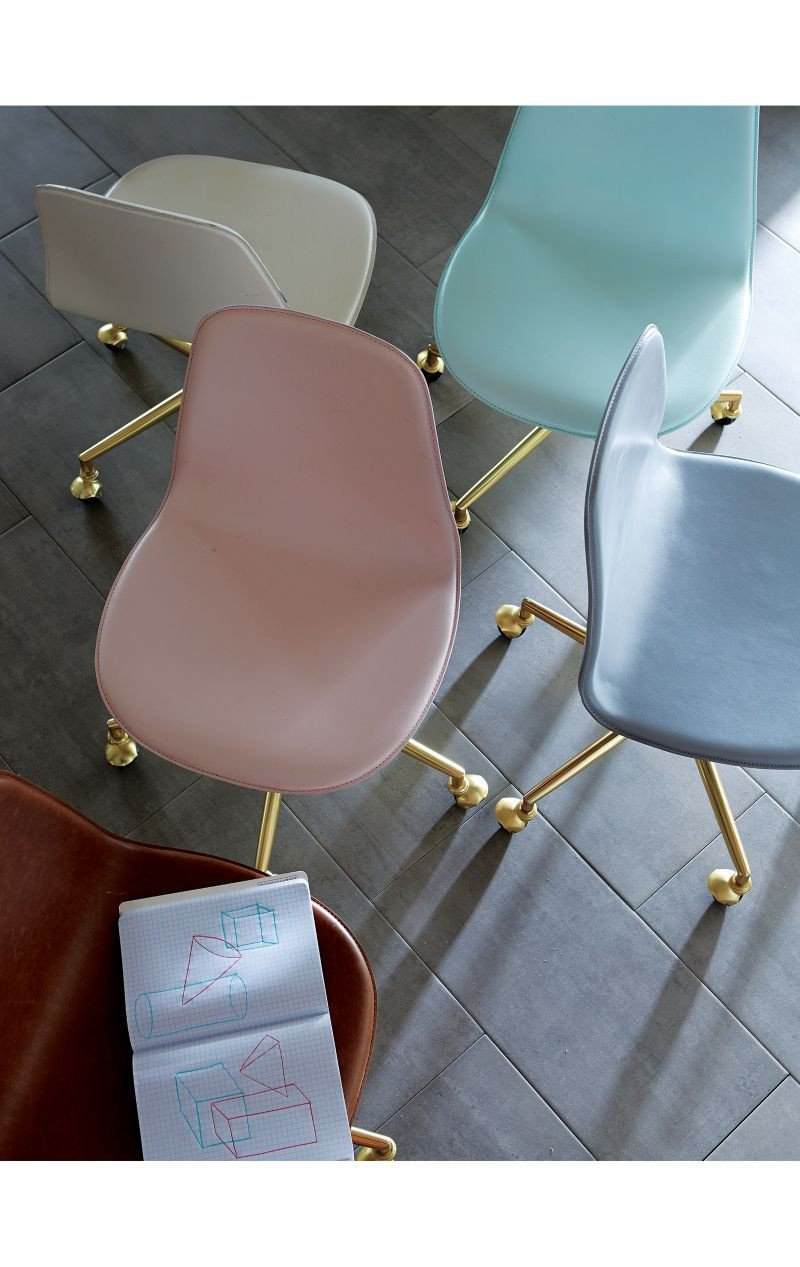 Pink Chair for Bedroom Fresh Kids Class Act Pink and Gold Desk Chair In 2020