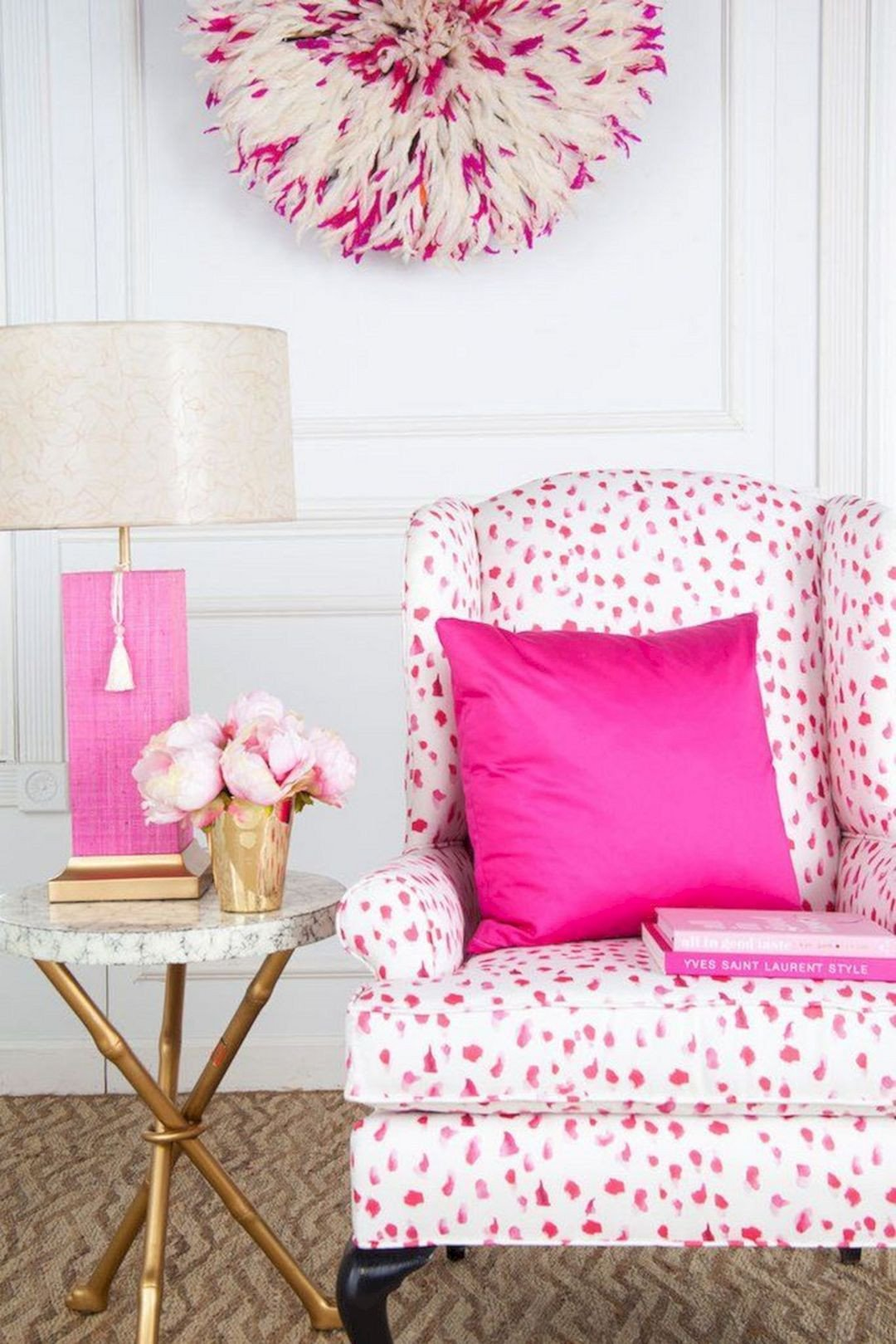 Pink Chair for Bedroom New 25 Most Romantic Pink Home Fices Color Scheme Ideas