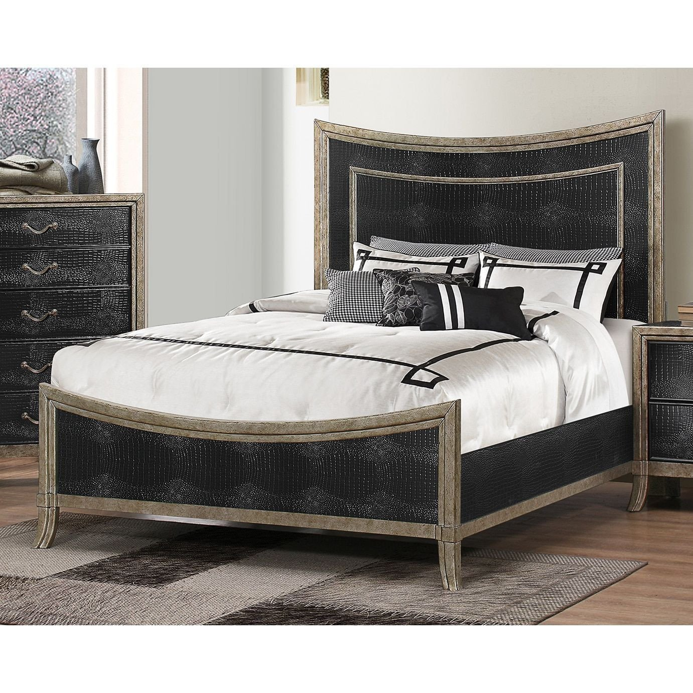 Platform Bedroom Set Queen Best Of Simmons San Juan Collection Queen King Bed Queen Black