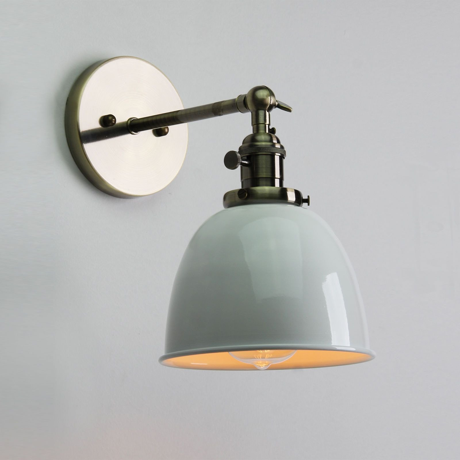 Plug In Wall Lamps for Bedroom Lovely It Has A Clean Industrial Look that is Super Cool the Glass