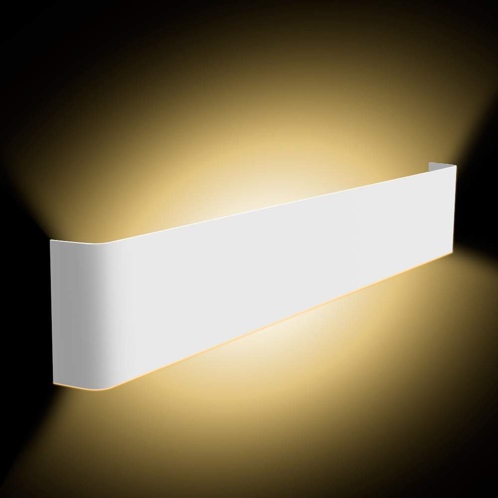 Plug In Wall Light for Bedroom Lovely Ziidoo Led Modern Wall Lamp Wall Sconces 24w 22 5 Inches Wall Light for Indoor Vanity Light Pathway Staircase Bedroom Corridor Living Room Home
