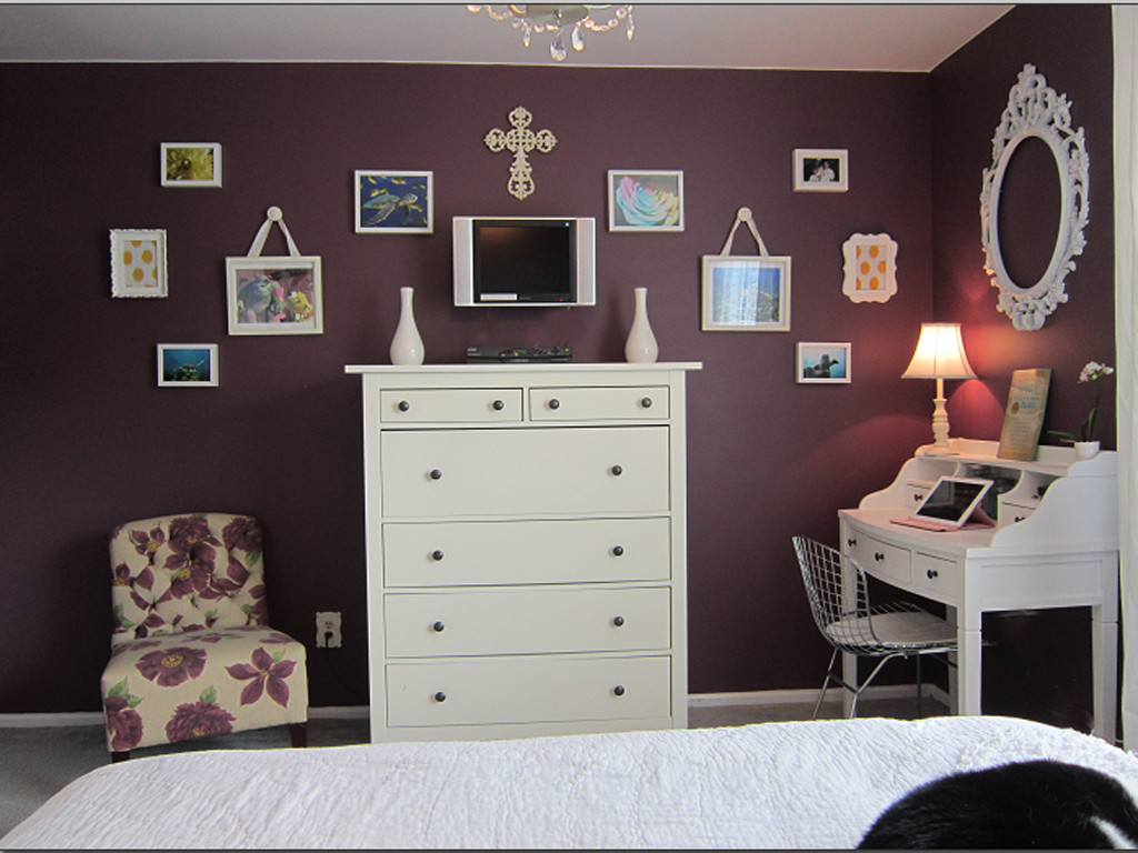 Purple and Silver Bedroom Awesome Purple Bedroom