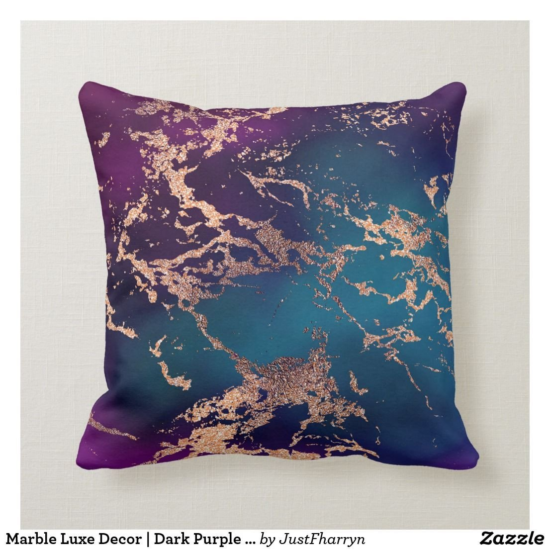 Purple and Teal Bedroom Lovely Moody Marble Decor