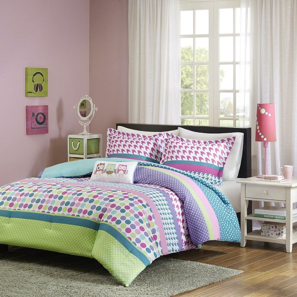 Purple and Teal Bedroom Unique Amazon Girls Teen Kids Modern forter Bedding Set
