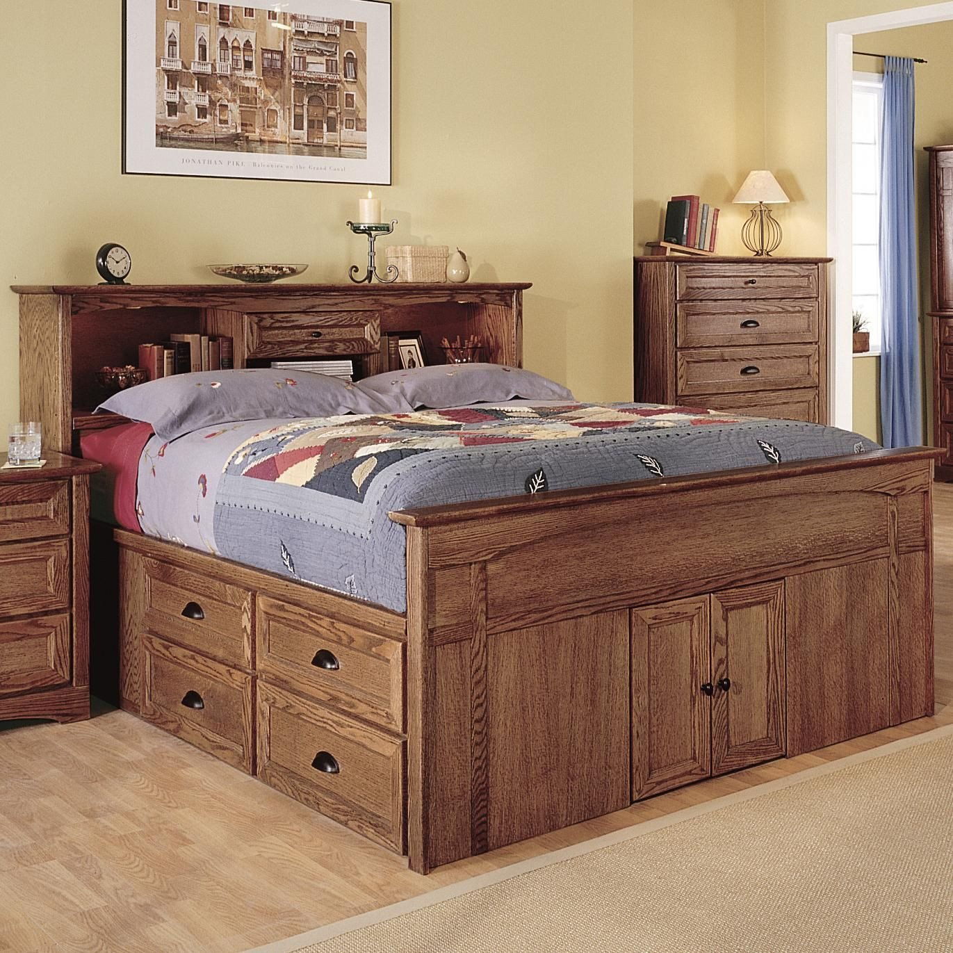 Queen Bedroom Set with Storage Drawers Lovely Syrah Queen Captain S Bed by Thornwood