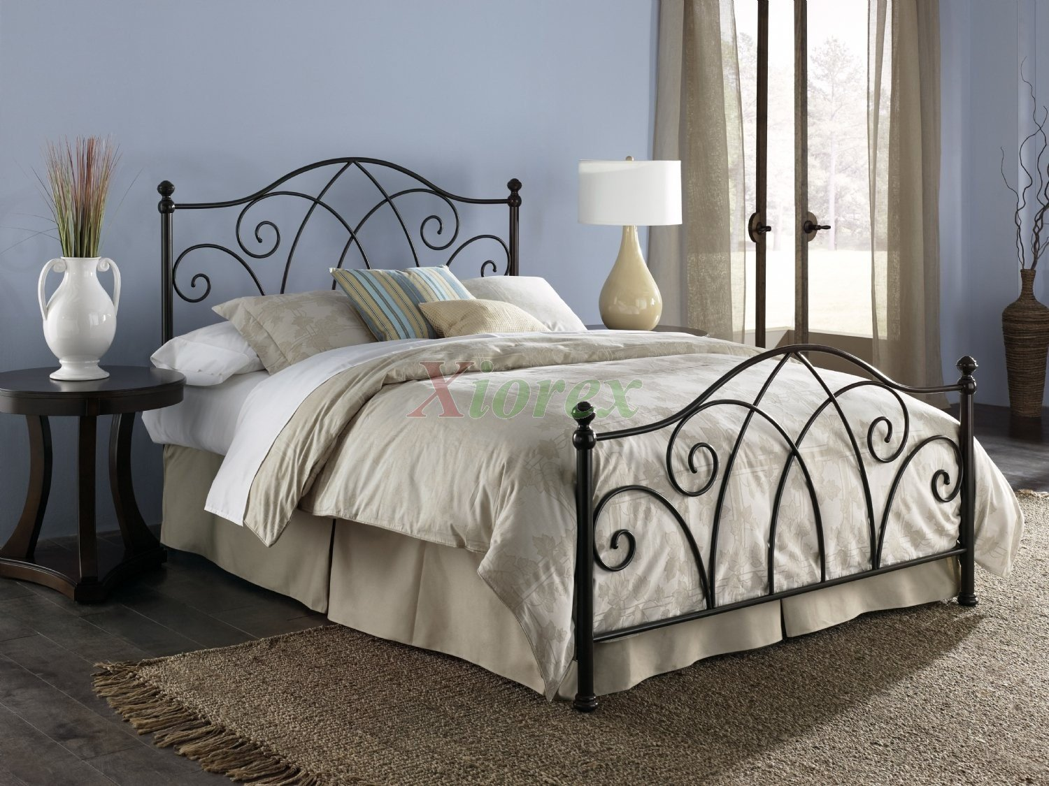 Queen Poster Bedroom Set Beautiful Deland Bed In Brown Sparkle Finish by Fashion Bed Group