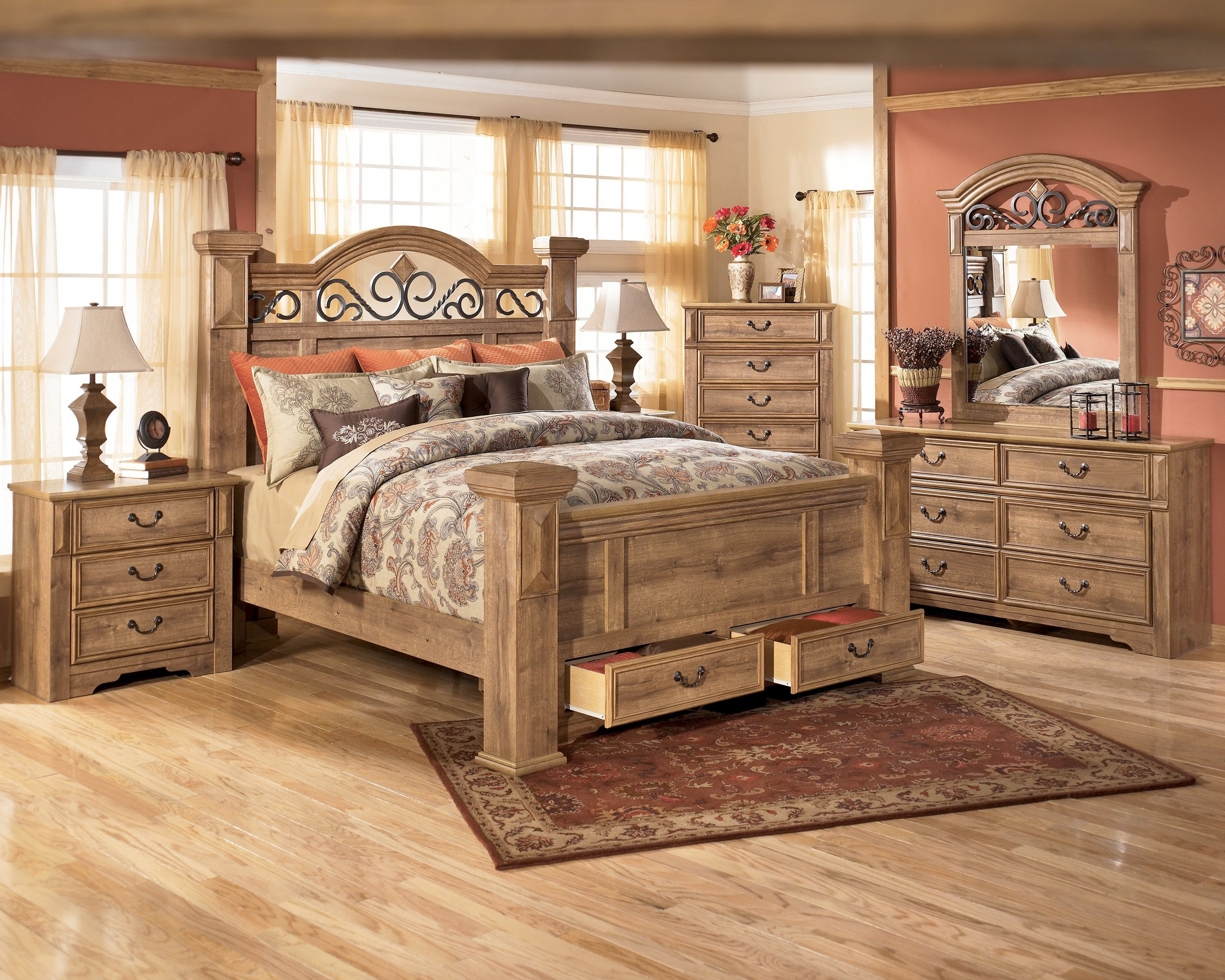 Queen Poster Bedroom Set Inspirational Awesome Awesome Full Size Bed Set 89 Home Decorating
