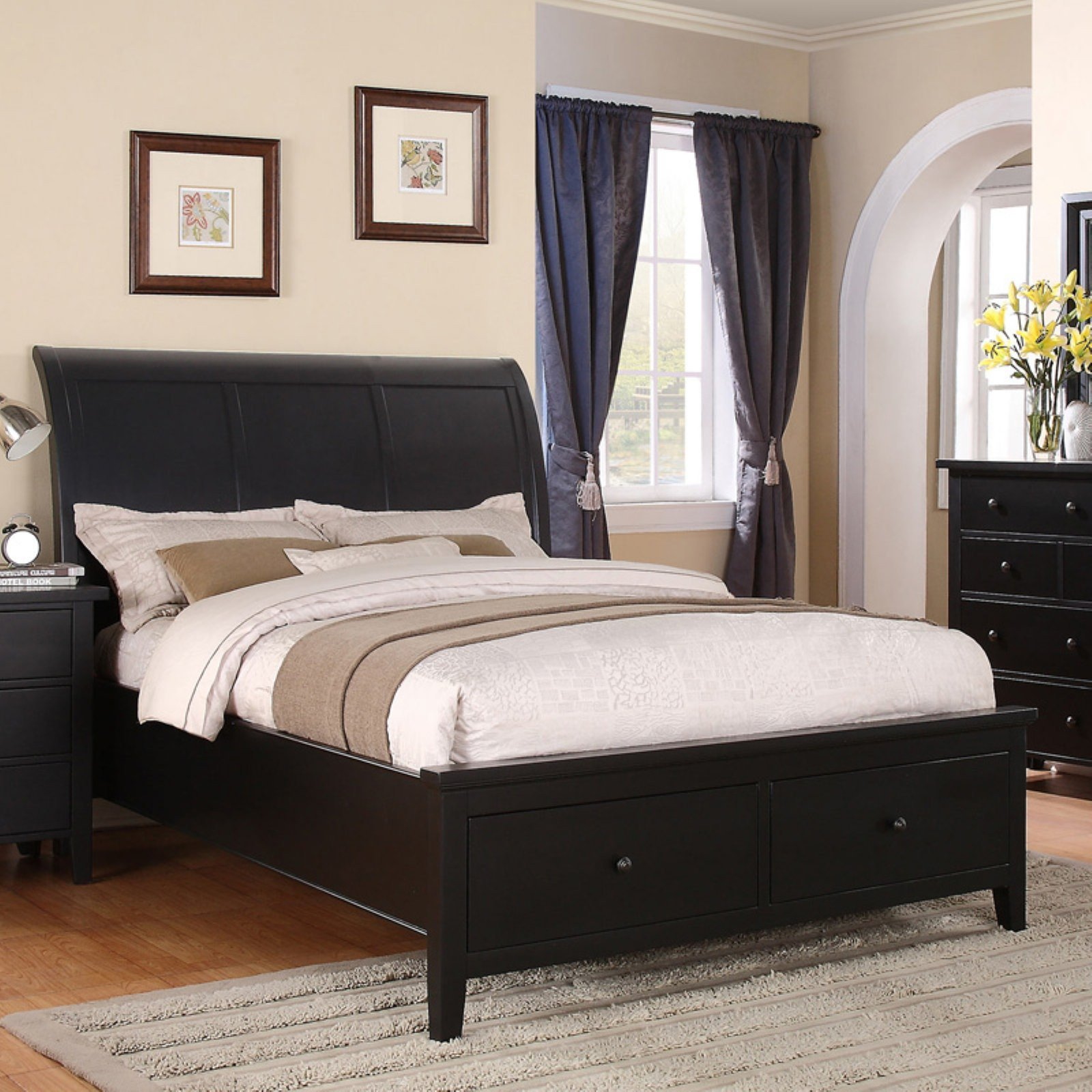 Queen Size Bedroom Suite Fresh Winners Ly Vintage Storage Sleigh Bed Size Queen