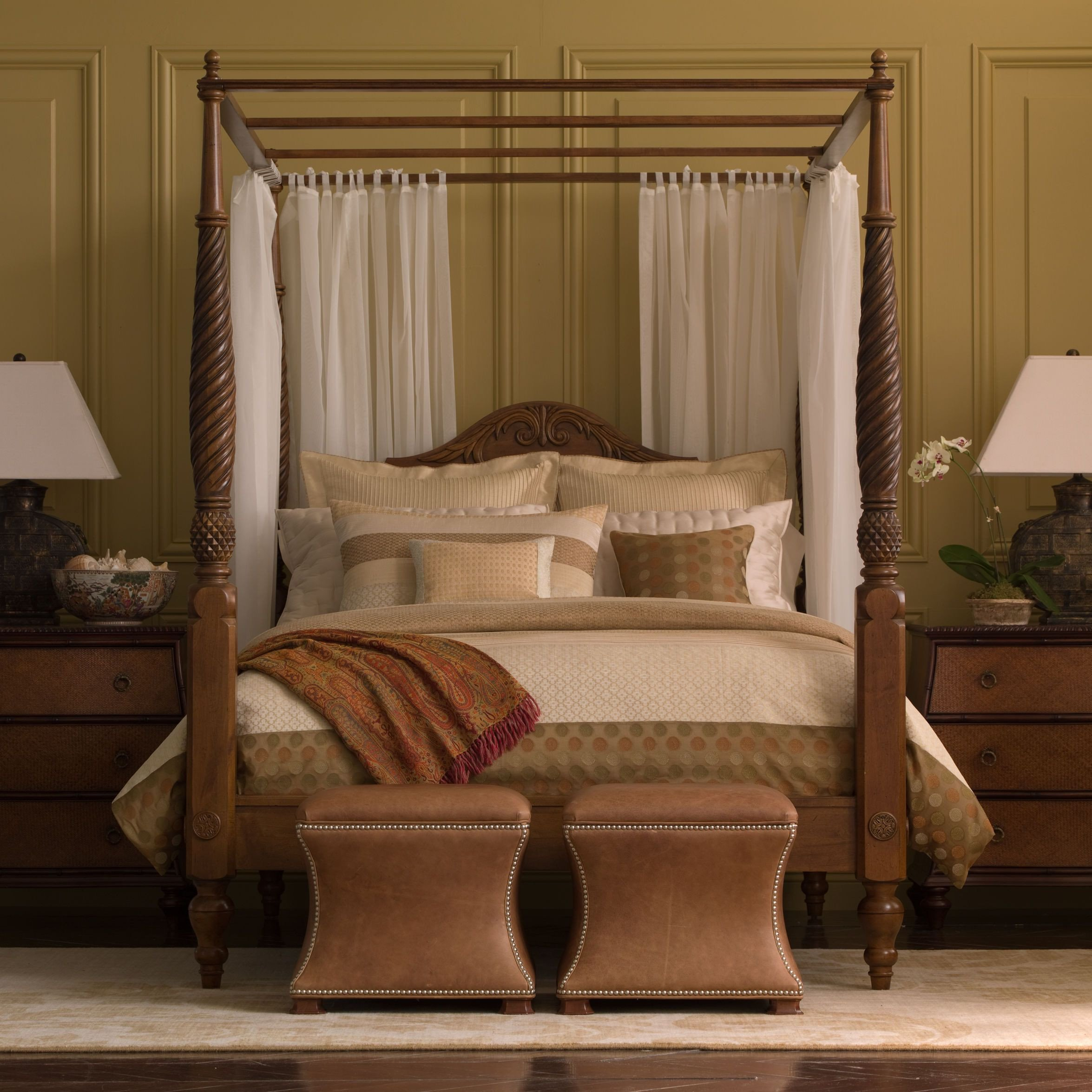 Queen Size Canopy Bedroom Set Lovely Montego Canopy Bed Ethan Allen Us