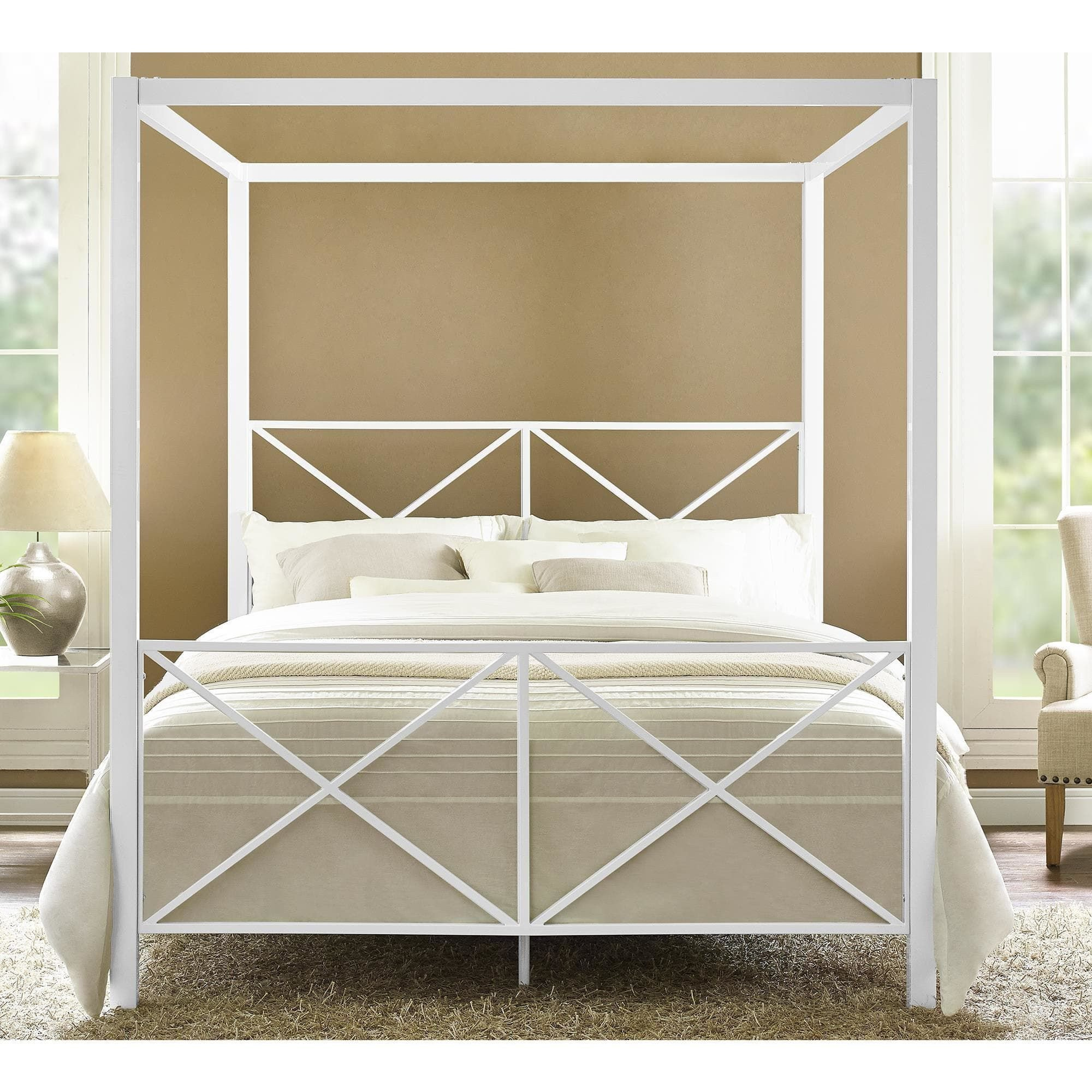 Queen Size Canopy Bedroom Set Unique Line Shopping Bedding Furniture Electronics Jewelry