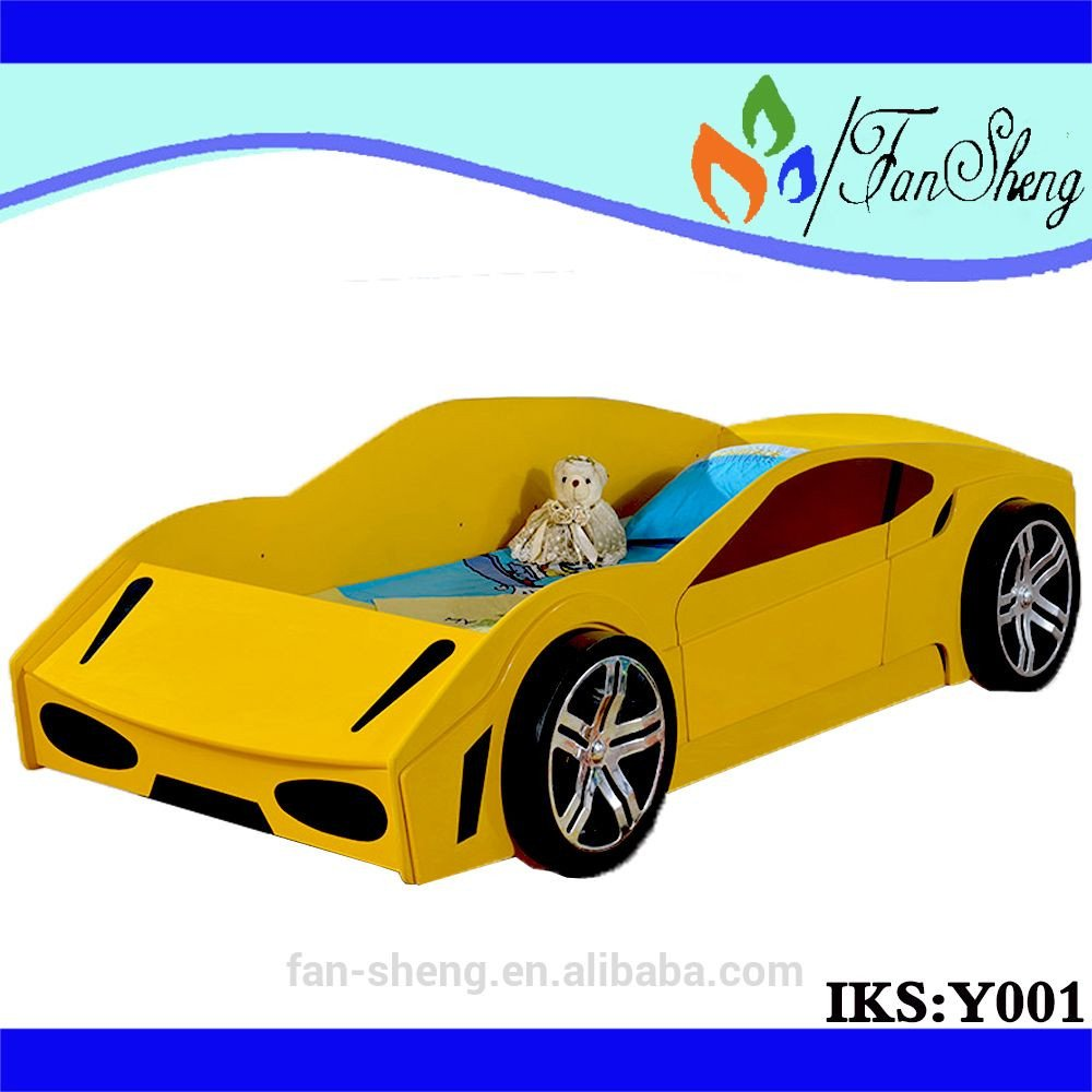 Race Car Bedroom Decor Awesome Hot Model Smart Yellow Furniture Children Use Specific Race