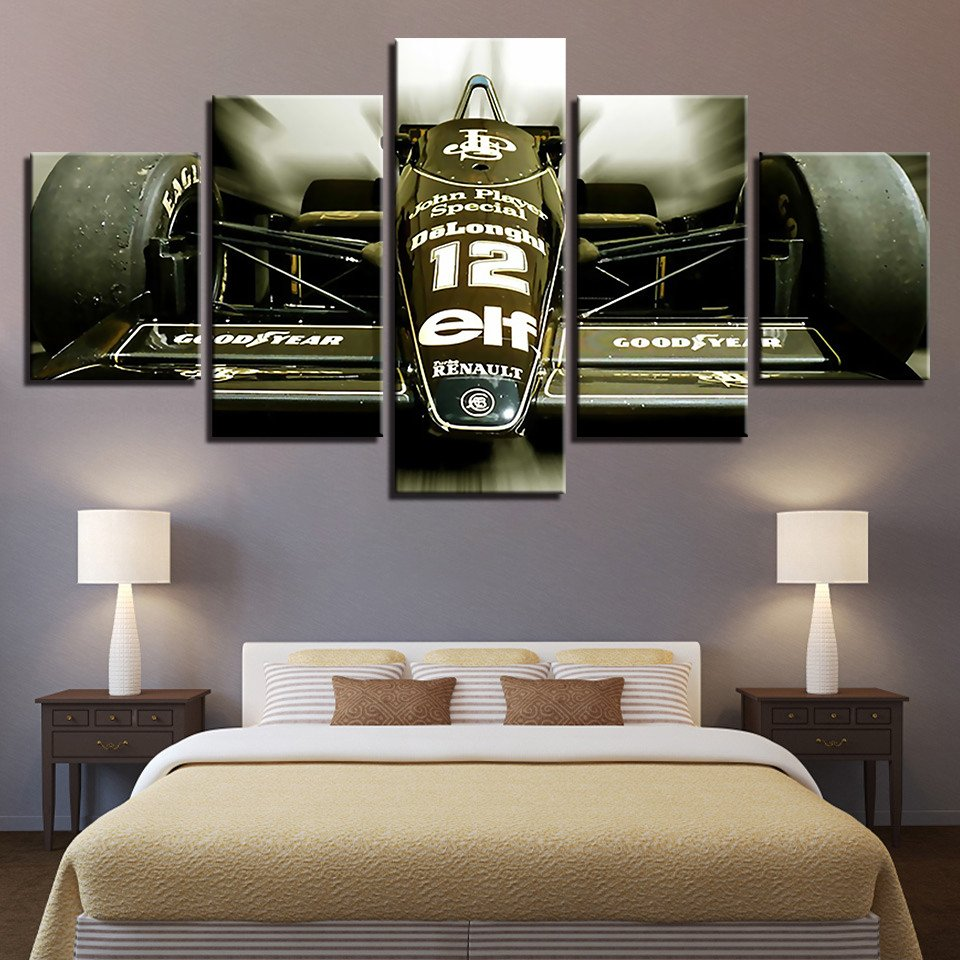 Race Car Bedroom Decor Elegant Us $5 81 Off Hd Printed Modern Wall Art Framework 5 Pieces Sports Car Racing Game Paintings Modular Canvas Posters Home Decoration In