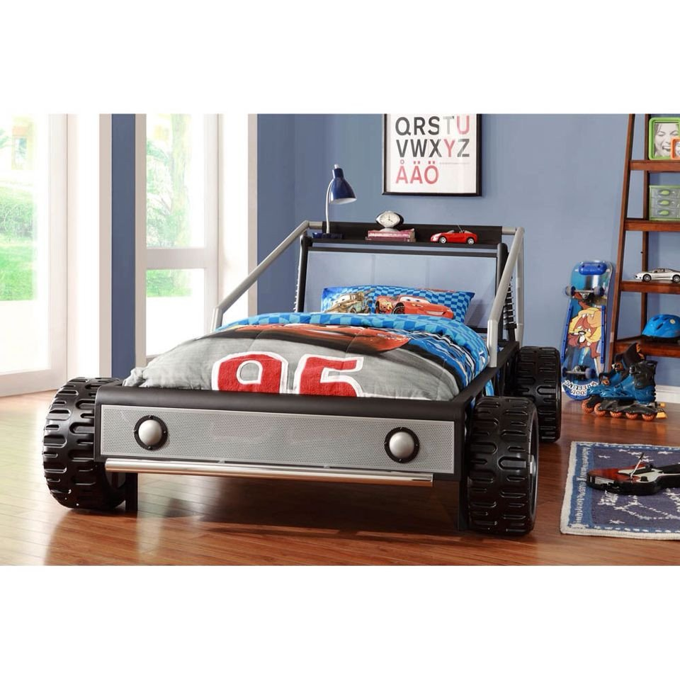 Race Car Bedroom Decor Luxury Boys Dirt Car Bed