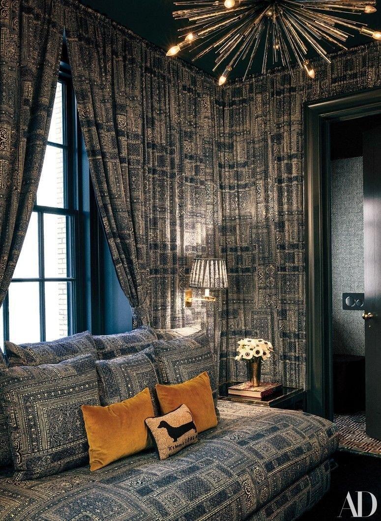 Ralph Lauren Bedroom Furniture Best Of Derek Blasberg S Gossip Room is Covered In A Ralph Lauren