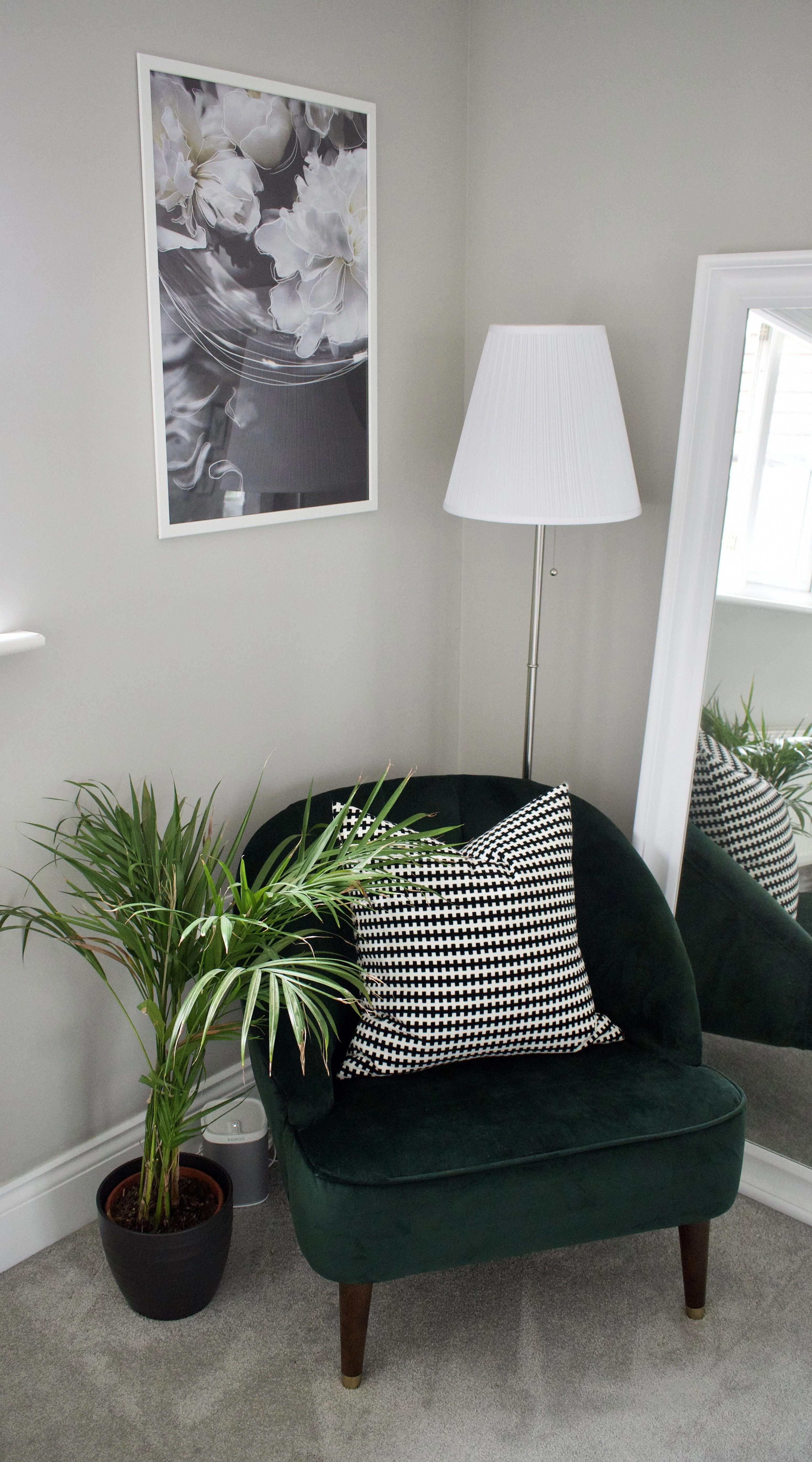 Reading Chair for Bedroom Lovely forest Green Velvet Margot Chair From Made Positioned In