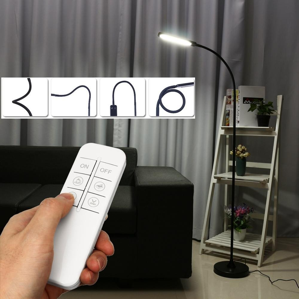 Reading Lamps for Bedroom Unique Dimmable Remote Control Led Floor Lamp Adjustable Light Reading Book Home Fice