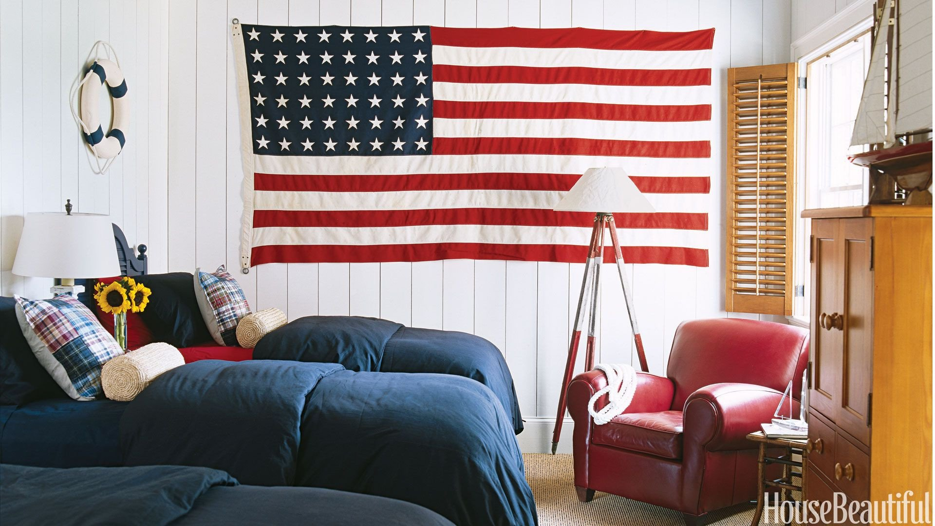 Red and Blue Bedroom Awesome Classic Red White and Blue Rooms
