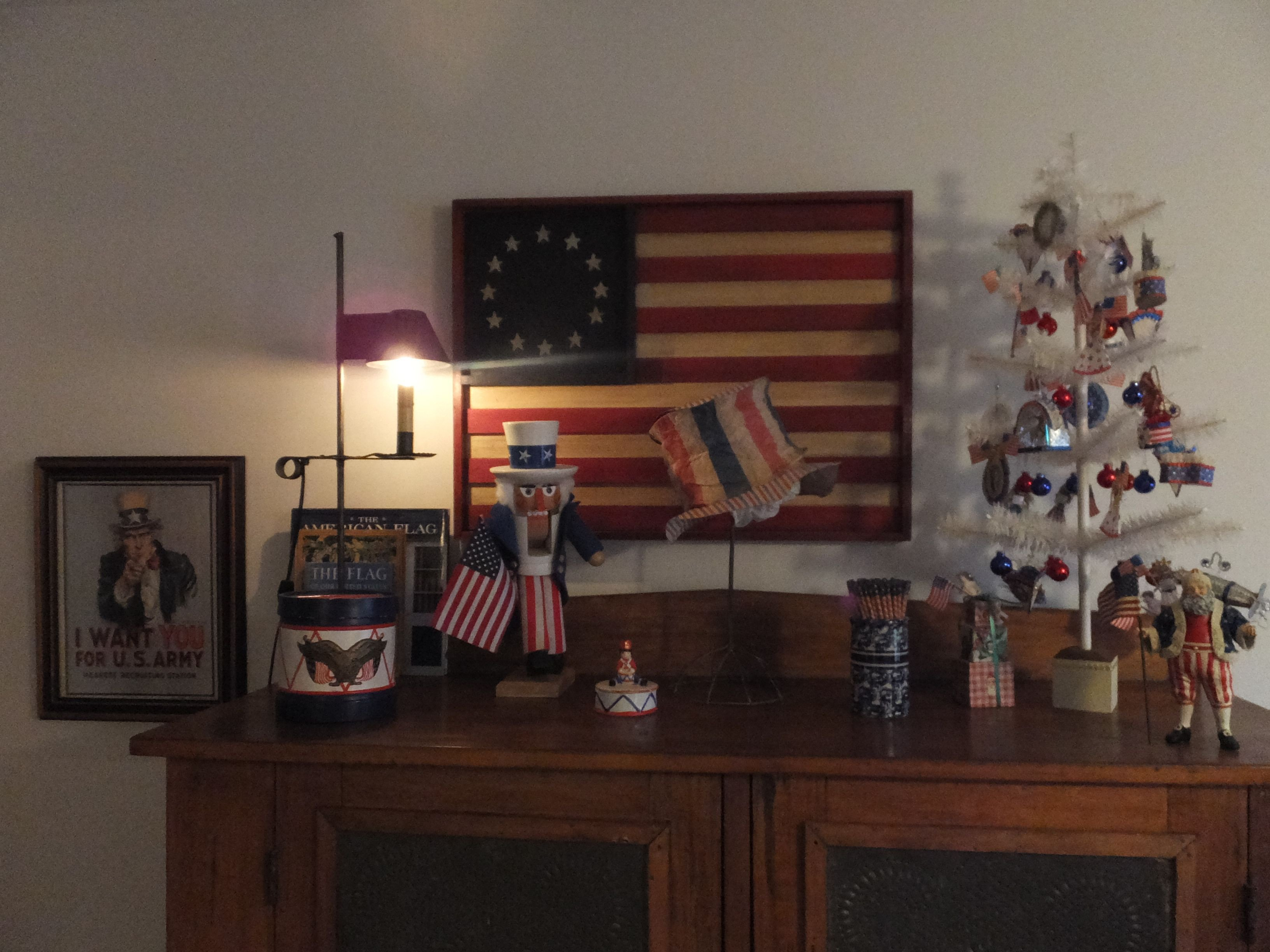 Red and Blue Bedroom New My Red White and Blue Room Primitive Americana