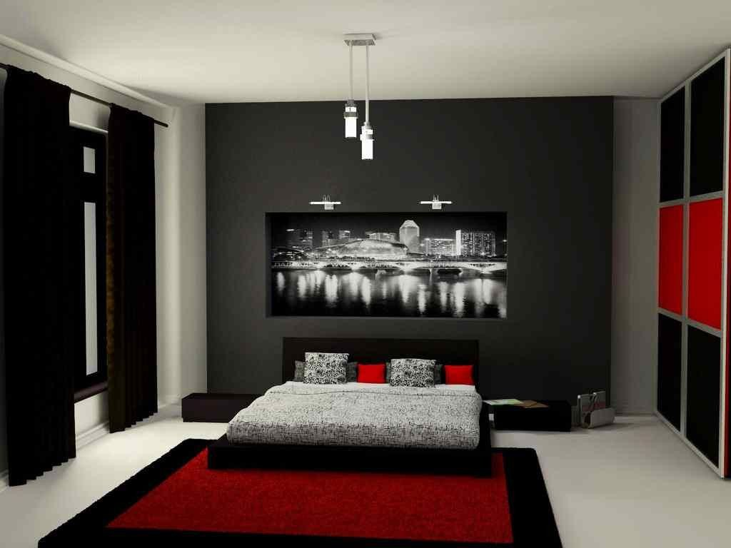 Red and Gray Bedroom Ideas Best Of Red and Black Bedroom Design Ideas