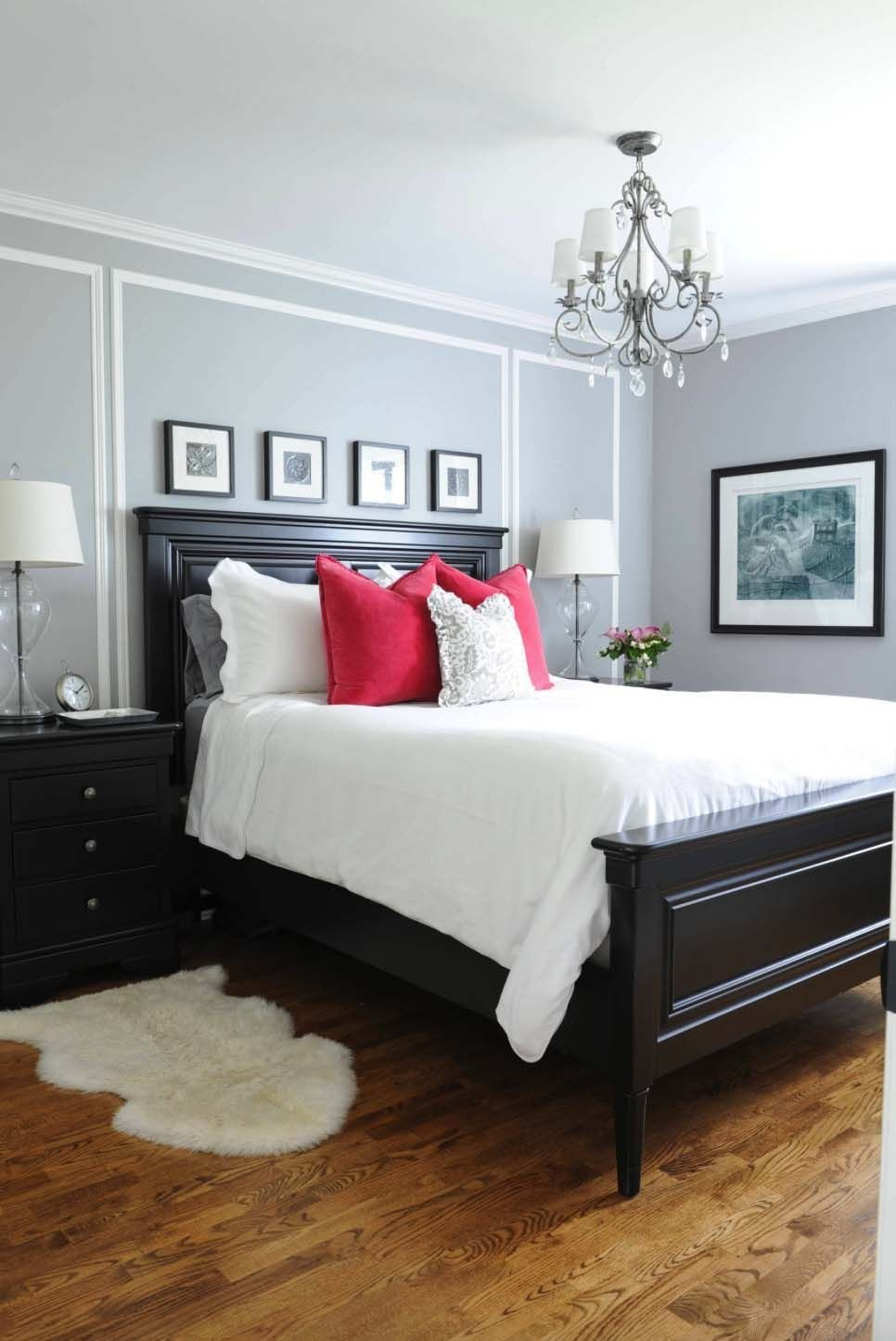 Red Grey and Black Bedroom Luxury the Gray Wall Color is Benjamin Moore S Coventry Gray Hc 169